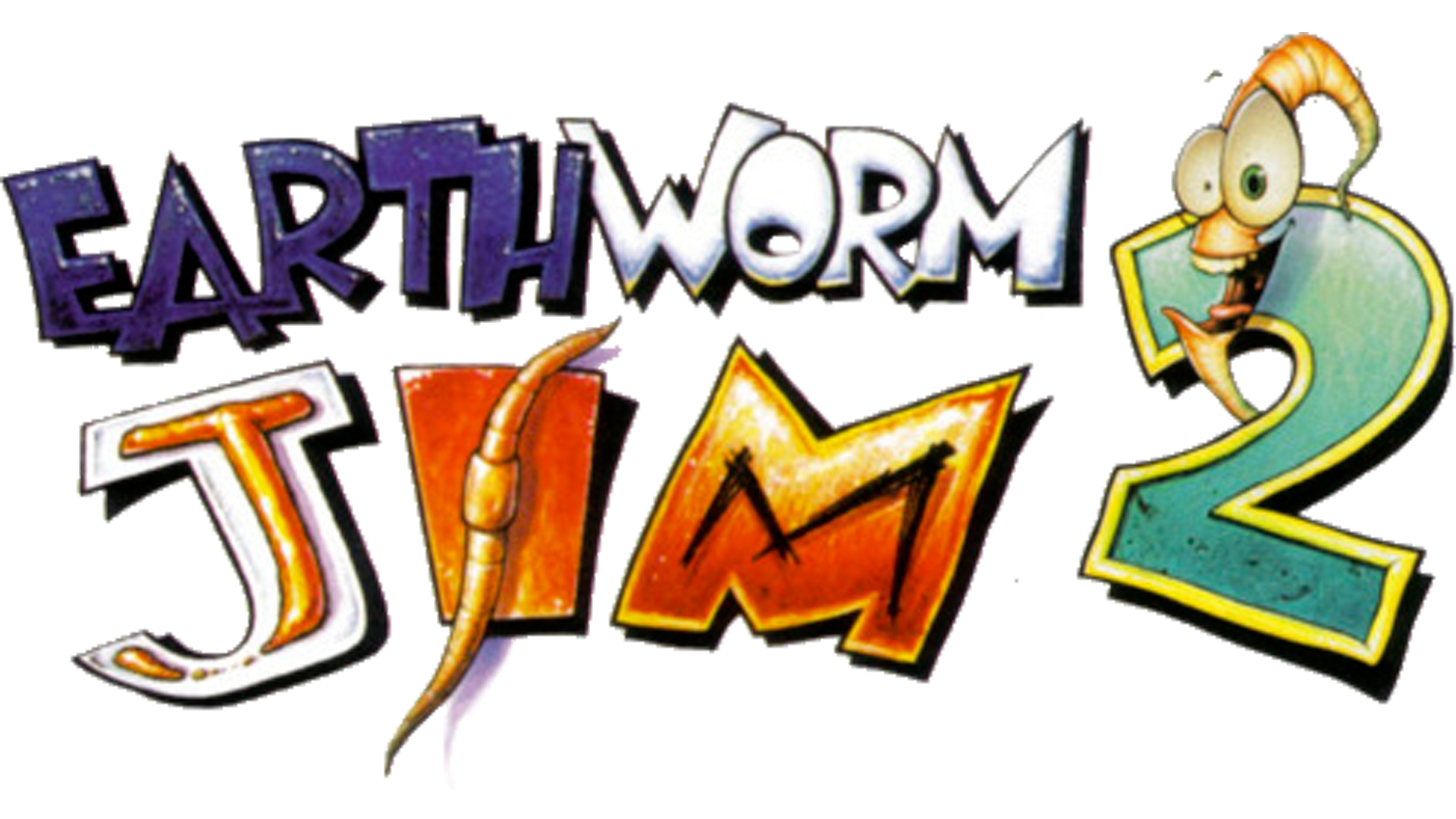 Earthworm Jim 2 (Arranged) Logo