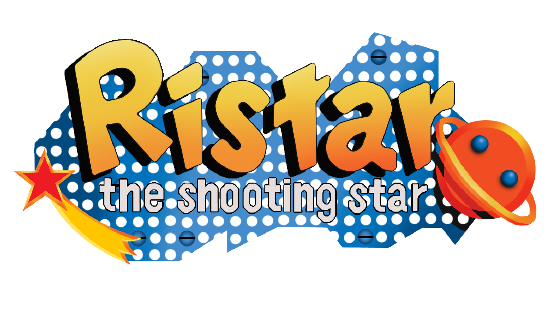 Ristar: The Shooting Star (Game Gear) Logo