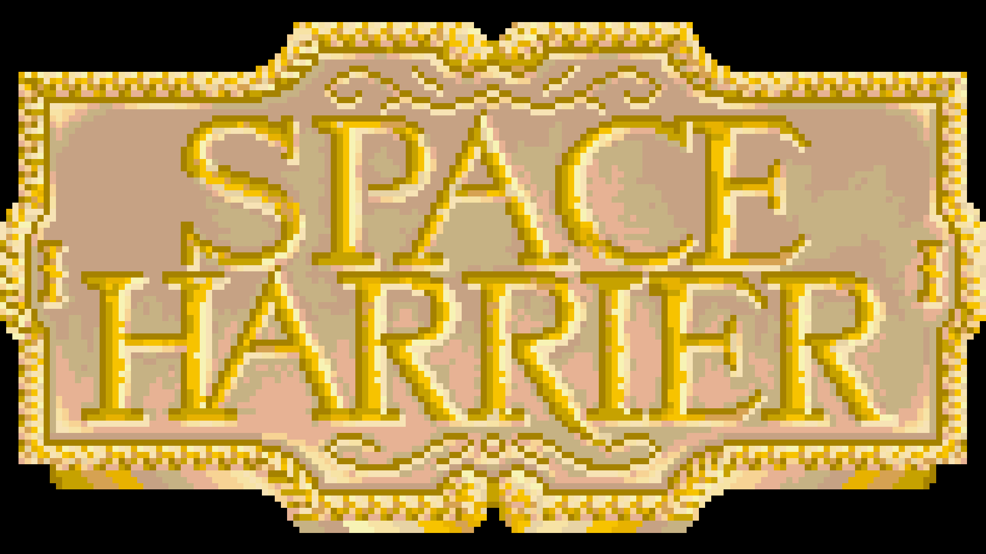 Space Harrier (32x) Logo