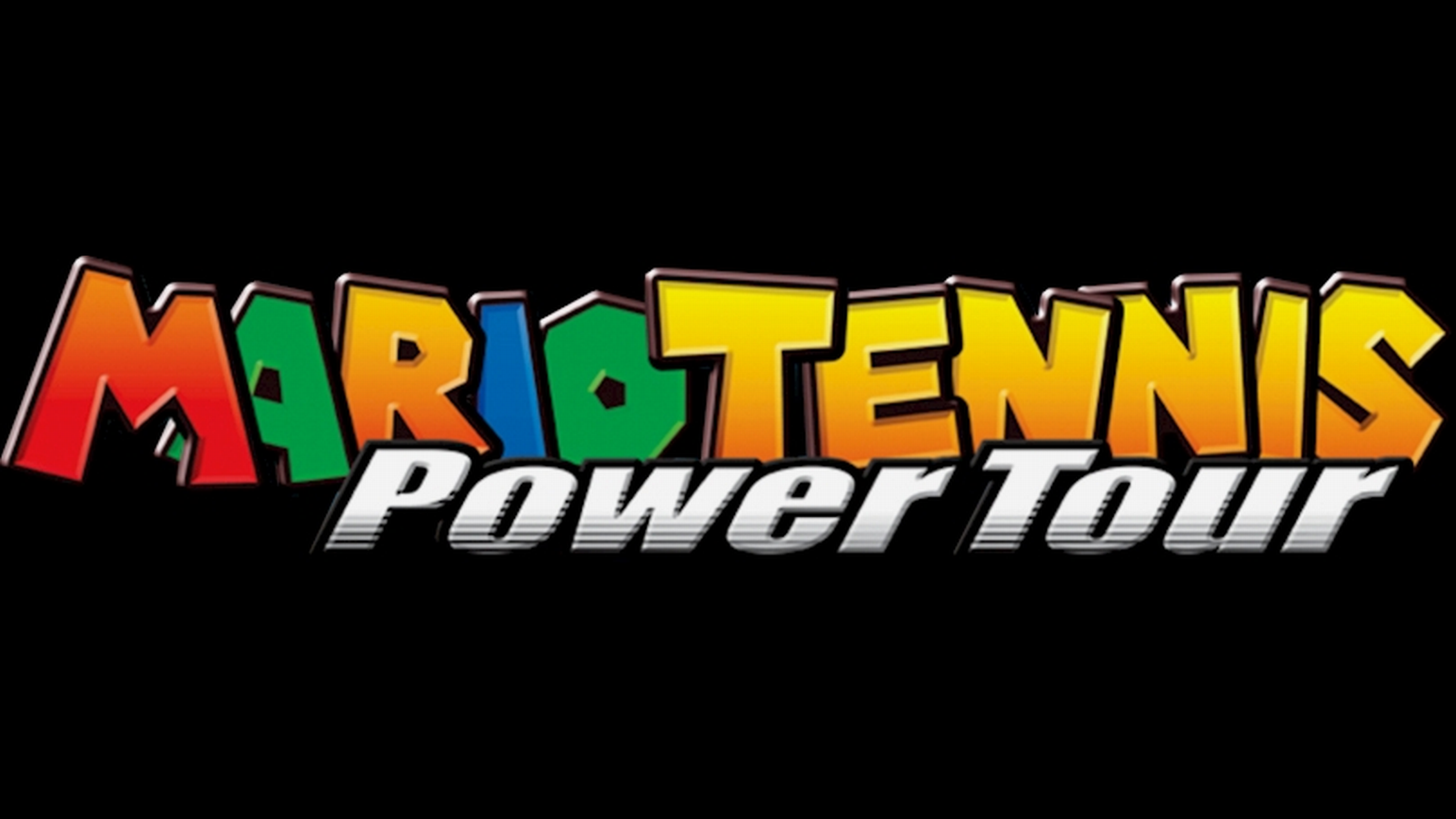 Mario Tennis: Power Tour Logo