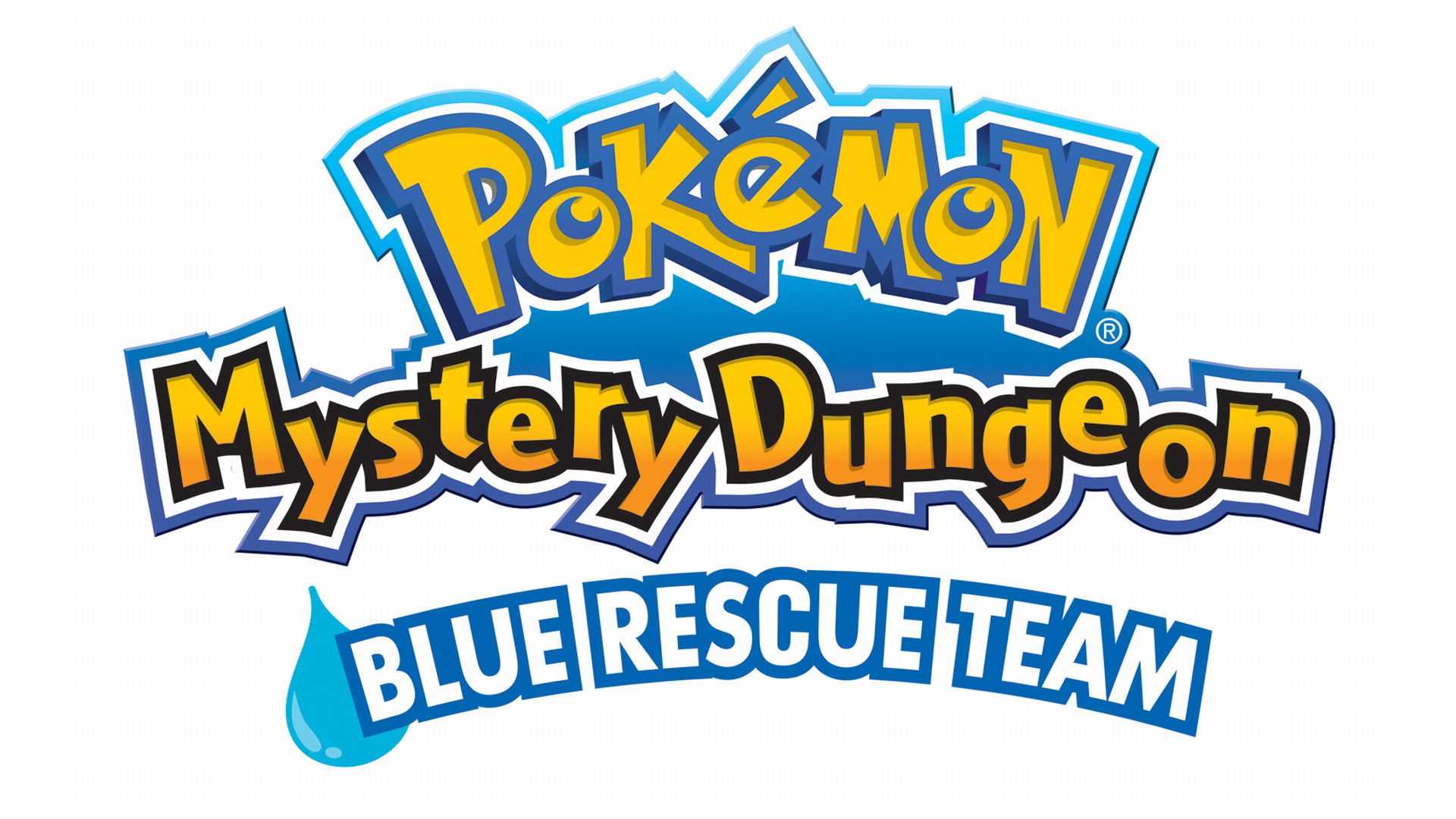Pokemon Mystery Dungeon: Blue Rescue Team Logo