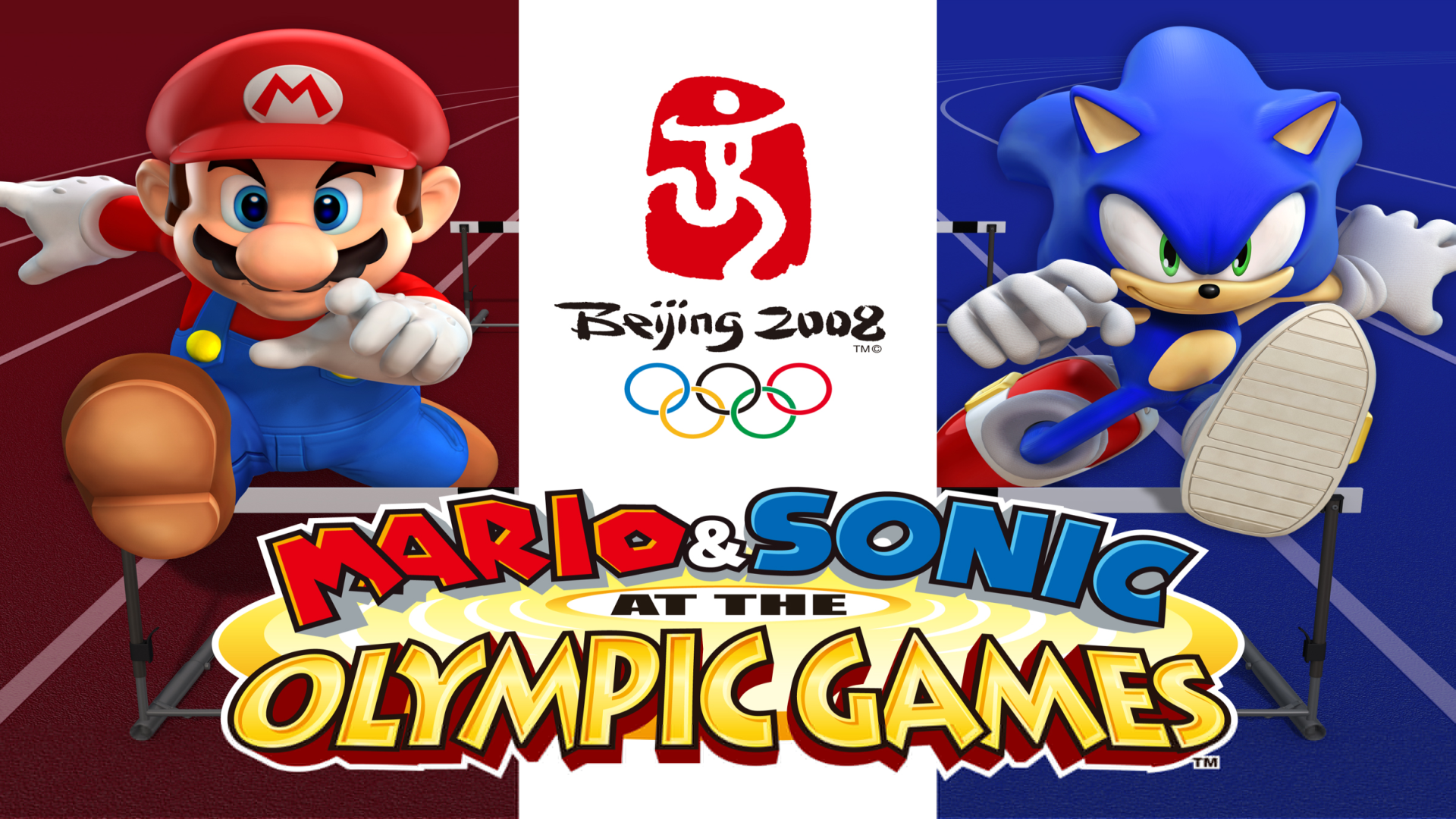 Mario & Sonic at the Olympic Games Logo