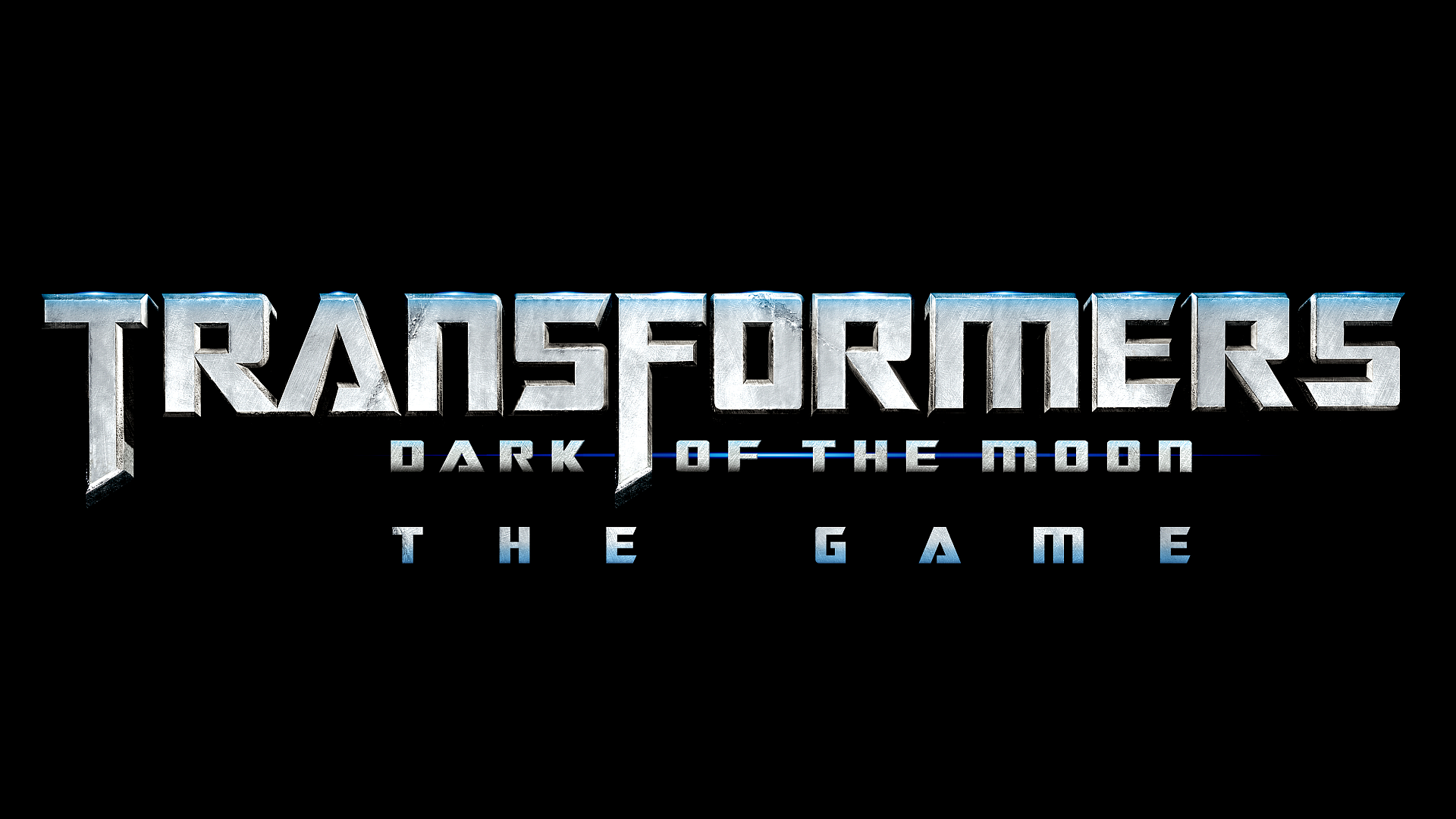 Transformers - Dark of the Moon: The Game Logo