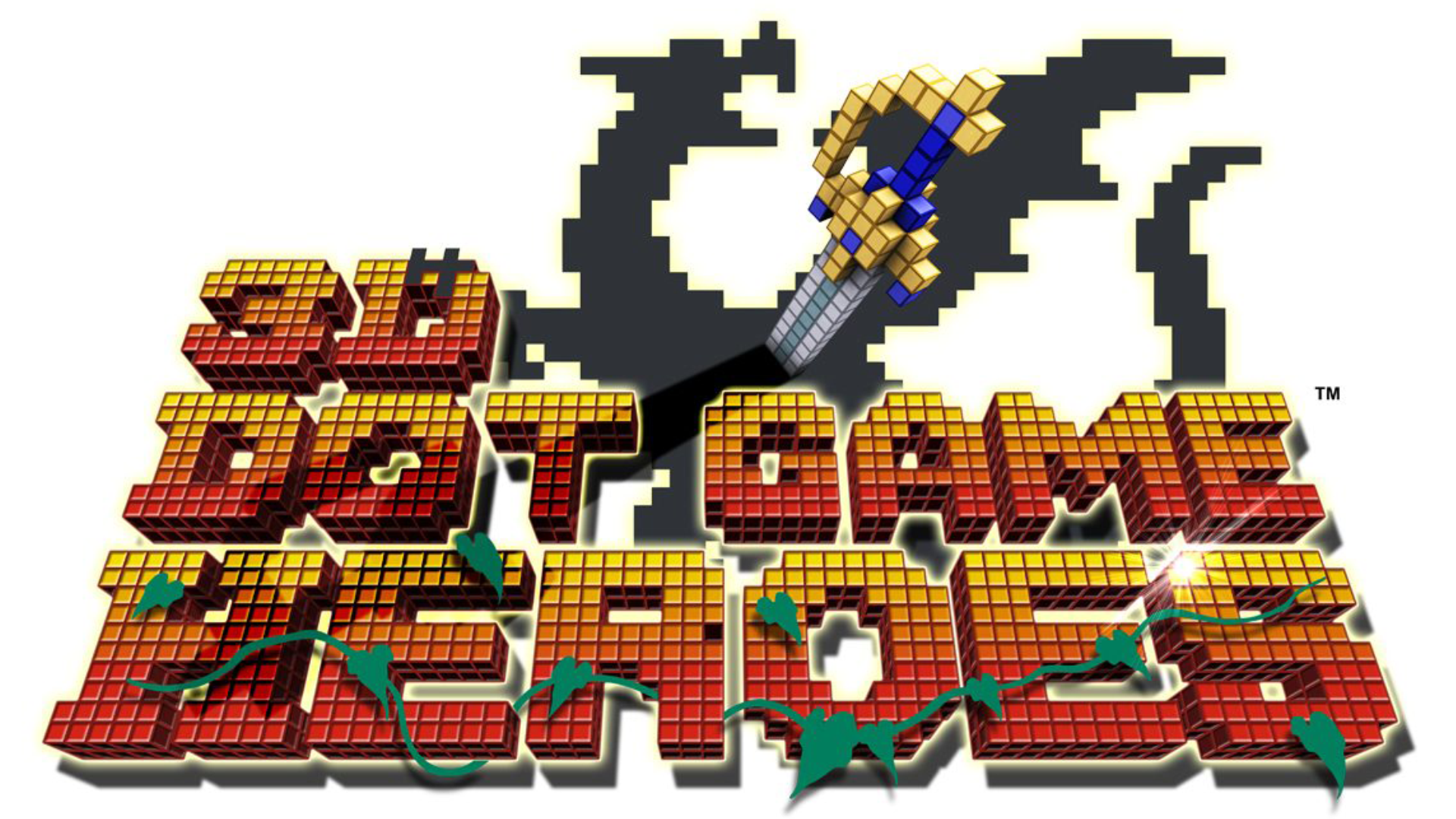 3D Dot Game Heroes Logo