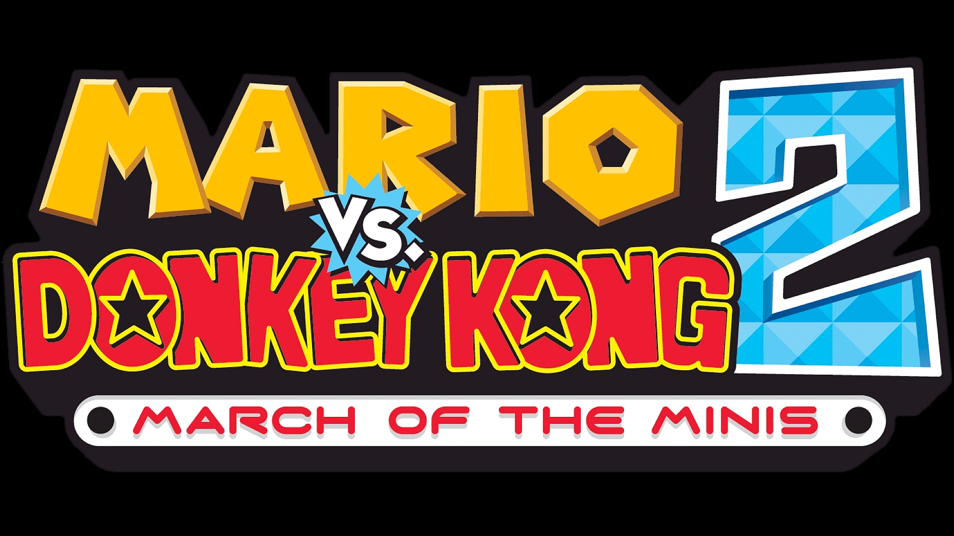 Mario vs. Donkey Kong 2: March of the Minis Logo