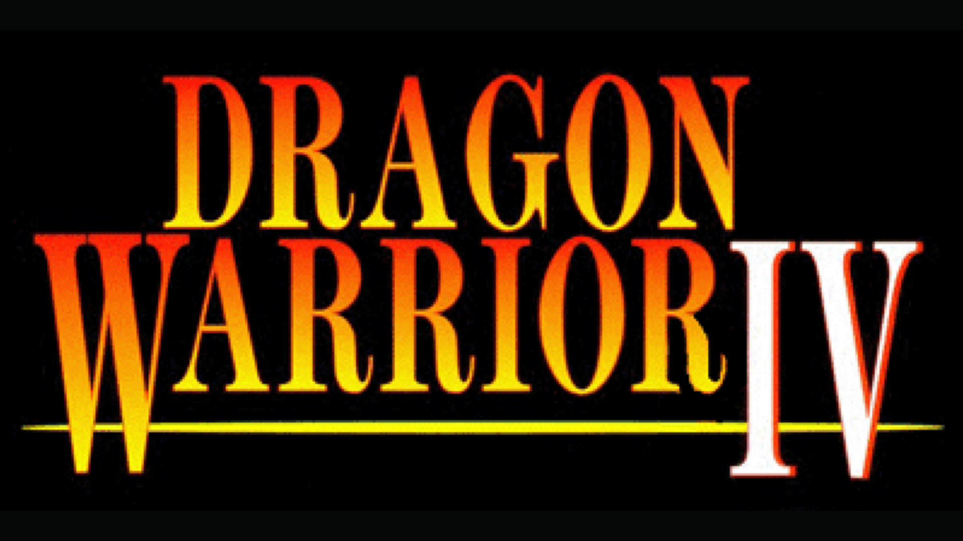 Dragon Warrior IV/Dragon Quest IV: Chapters of the Chosen Logo