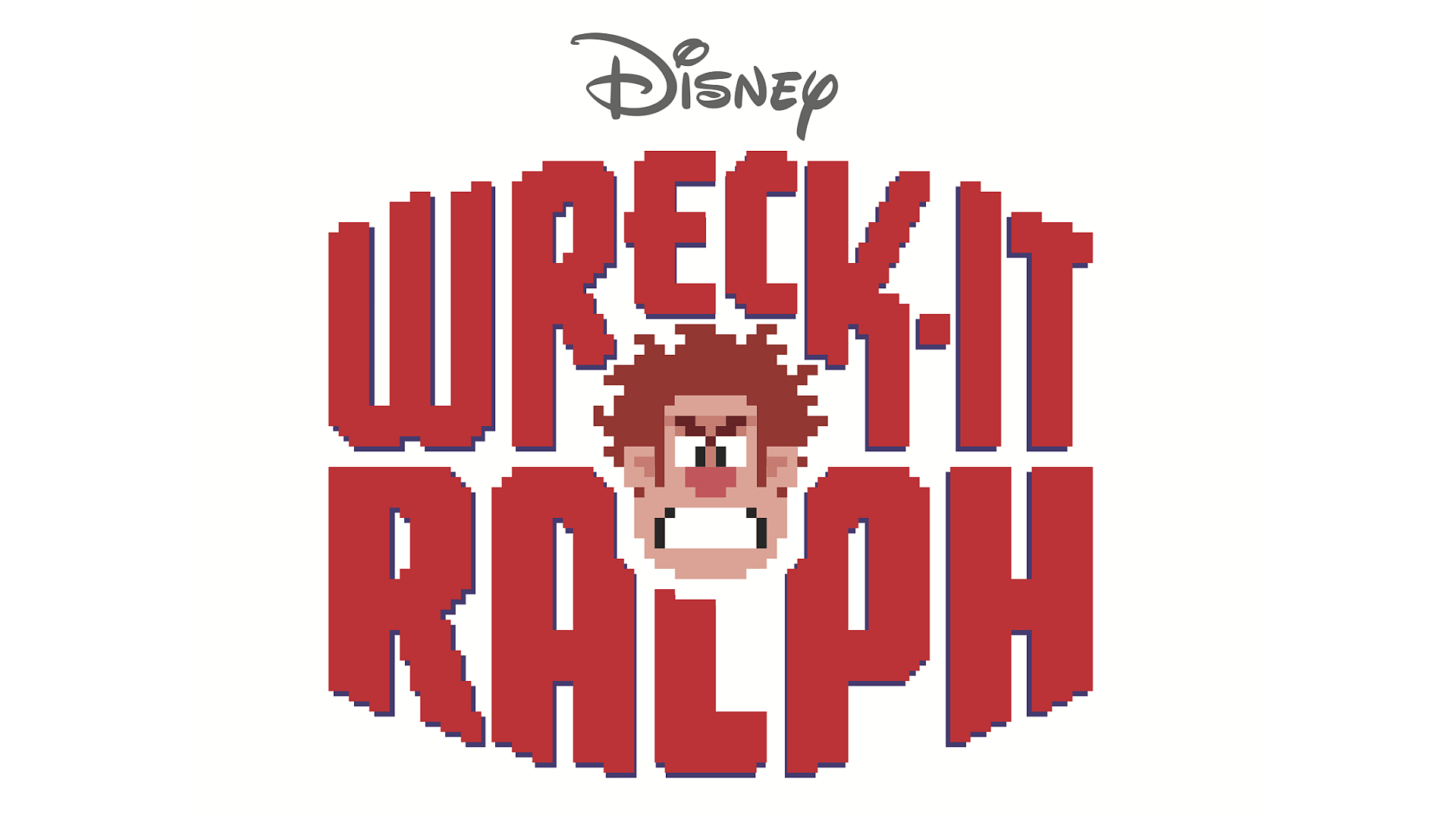 Wreck-It Ralph (Wii) Logo