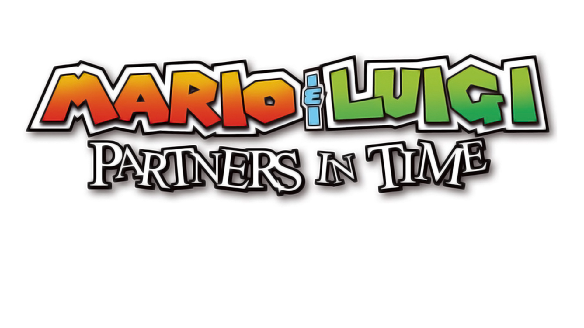 Mario & Luigi: Partners in Time Logo