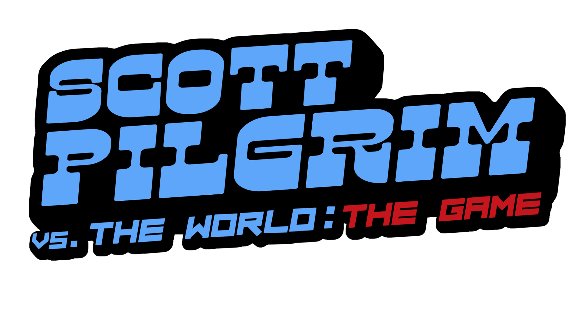 Scott Pilgrim vs. The World: The Game Logo