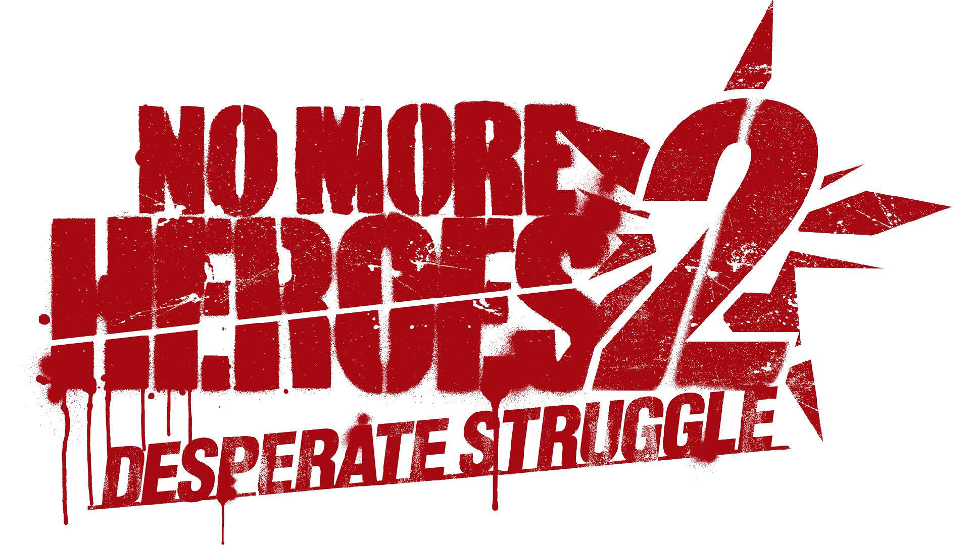 No More Heroes 2: Desperate Struggle Logo