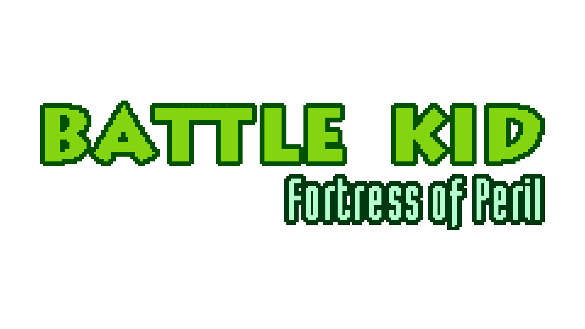 Battle Kid: Fortress of Peril Logo