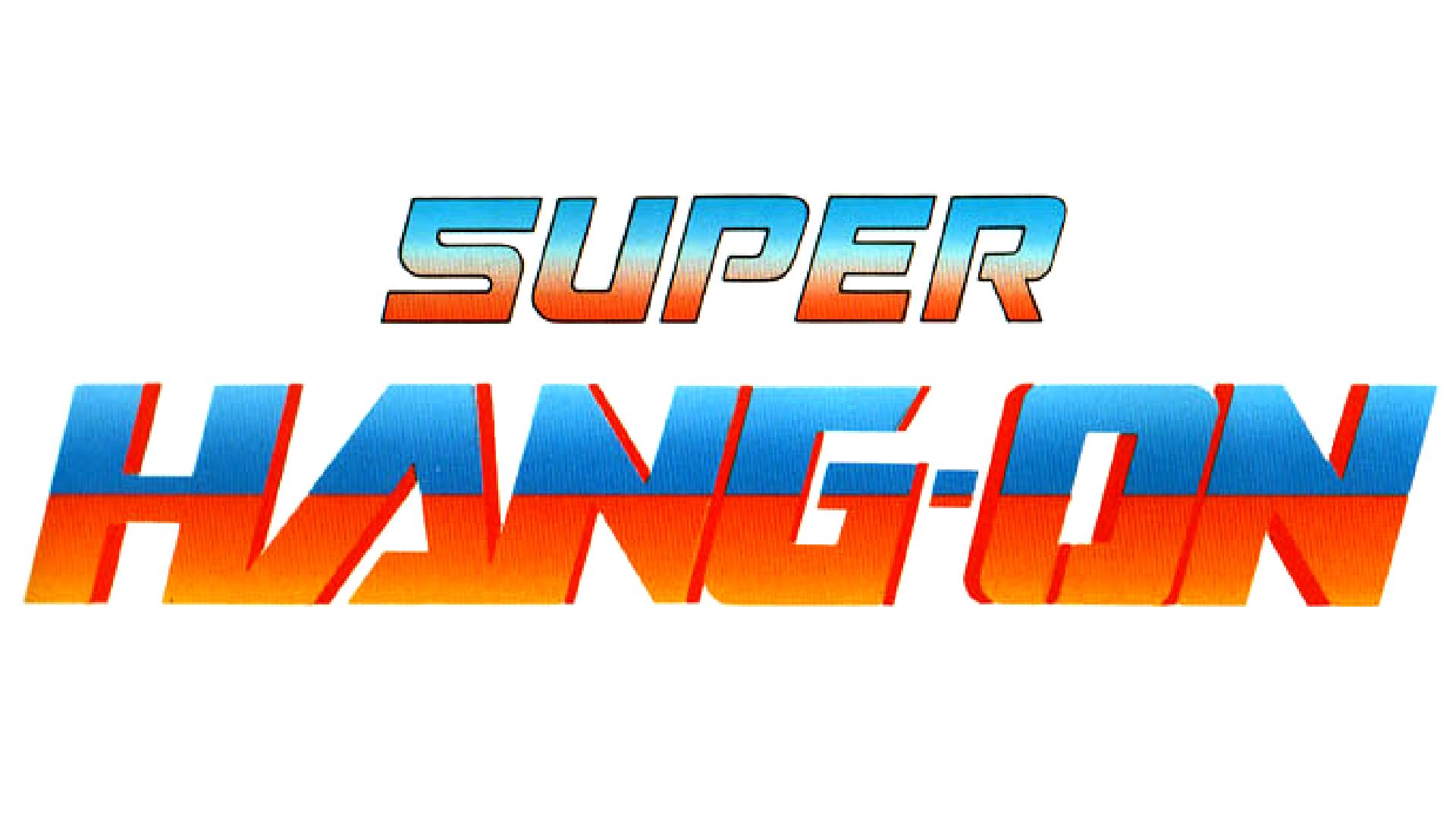 Super Hang-On Logo