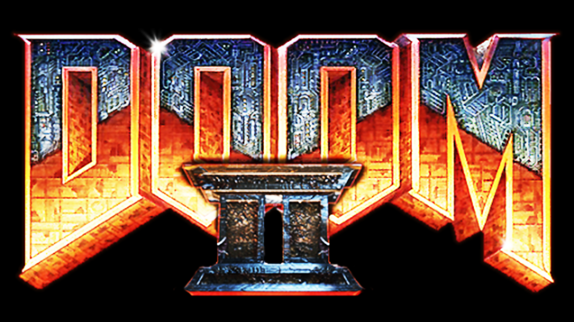 Doom II: Hell On Earth (PC) Logo