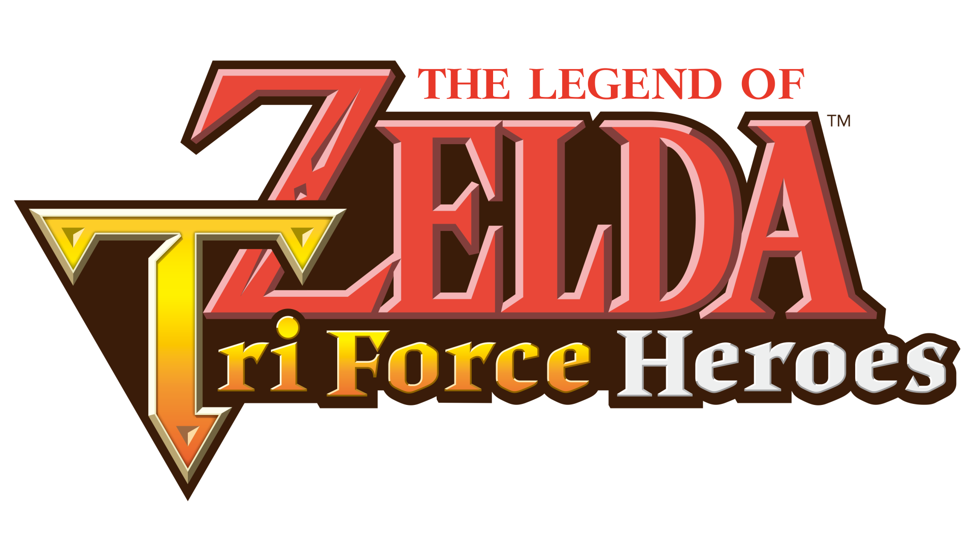The Legend of Zelda: Tri Force Heroes Logo