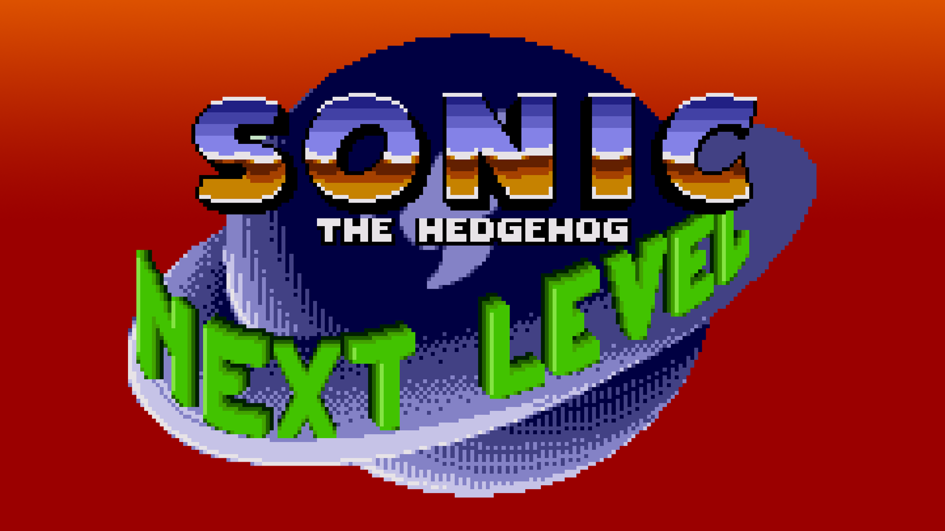 Sonic 1: The Next Level (Hack) Logo