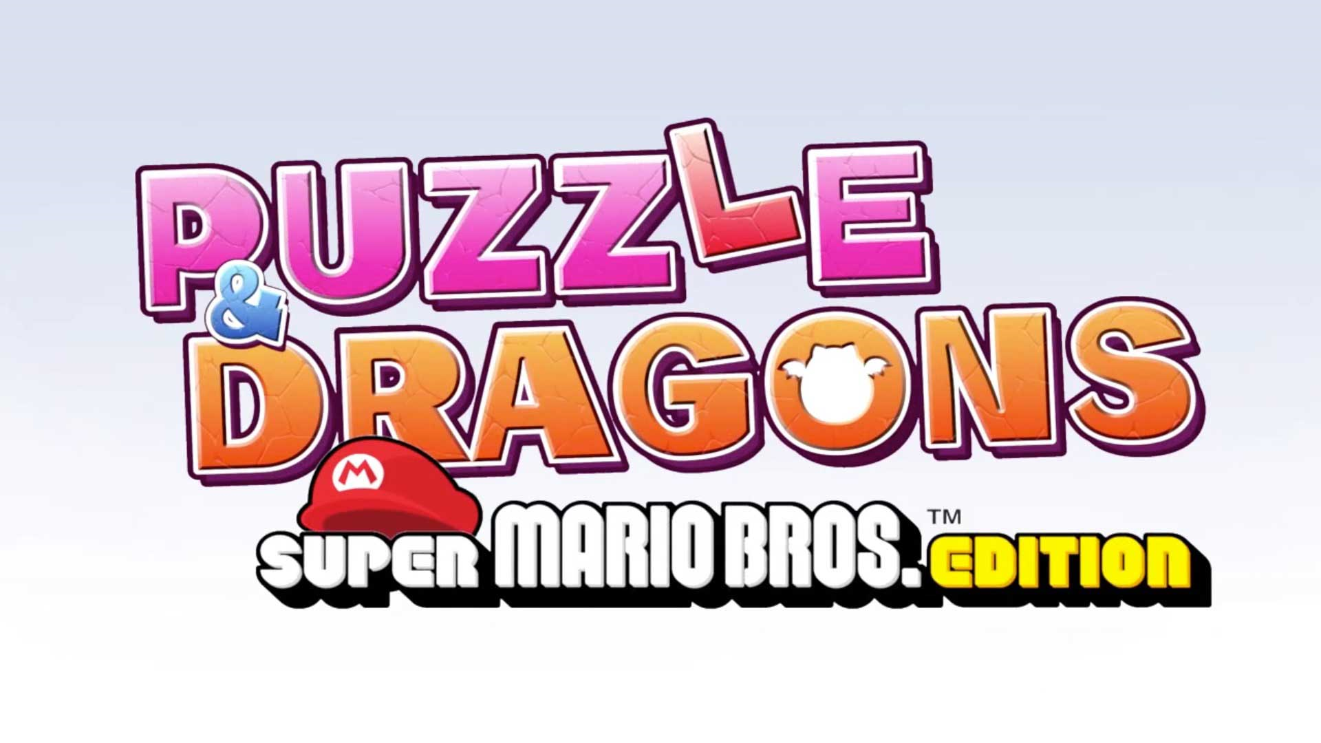 Puzzle & Dragons: Super Mario Bros. Edition Logo