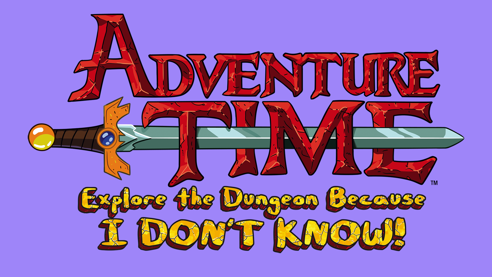 Adventure Time: Explore the Dungeon Because I DON'T KNOW! Logo
