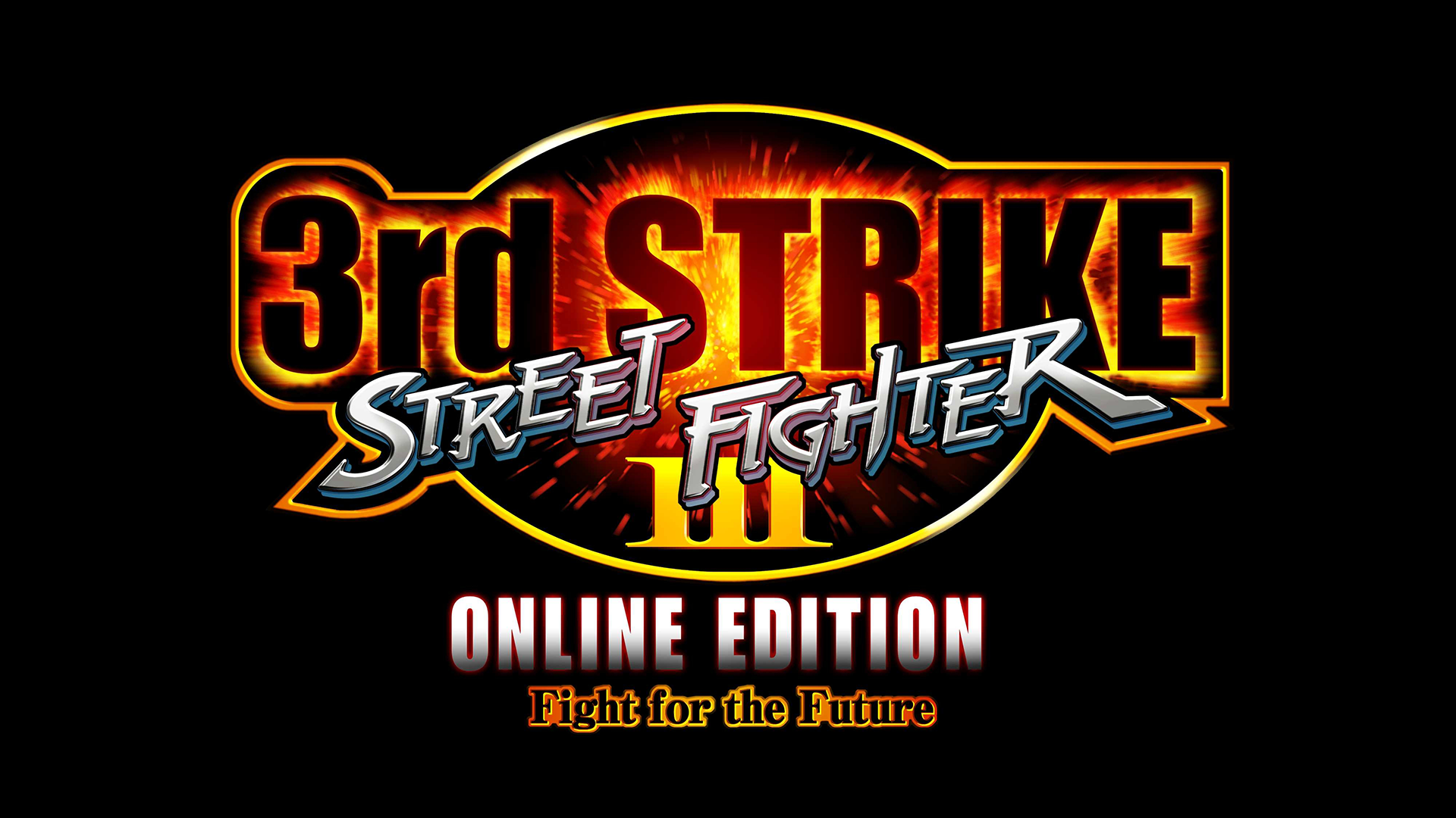 Street Fighter III: Third Strike Online Edition Logo