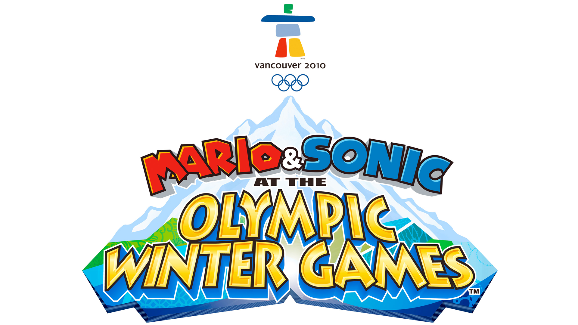 Mario & Sonic at the Olympic Winter Games (Wii) Logo