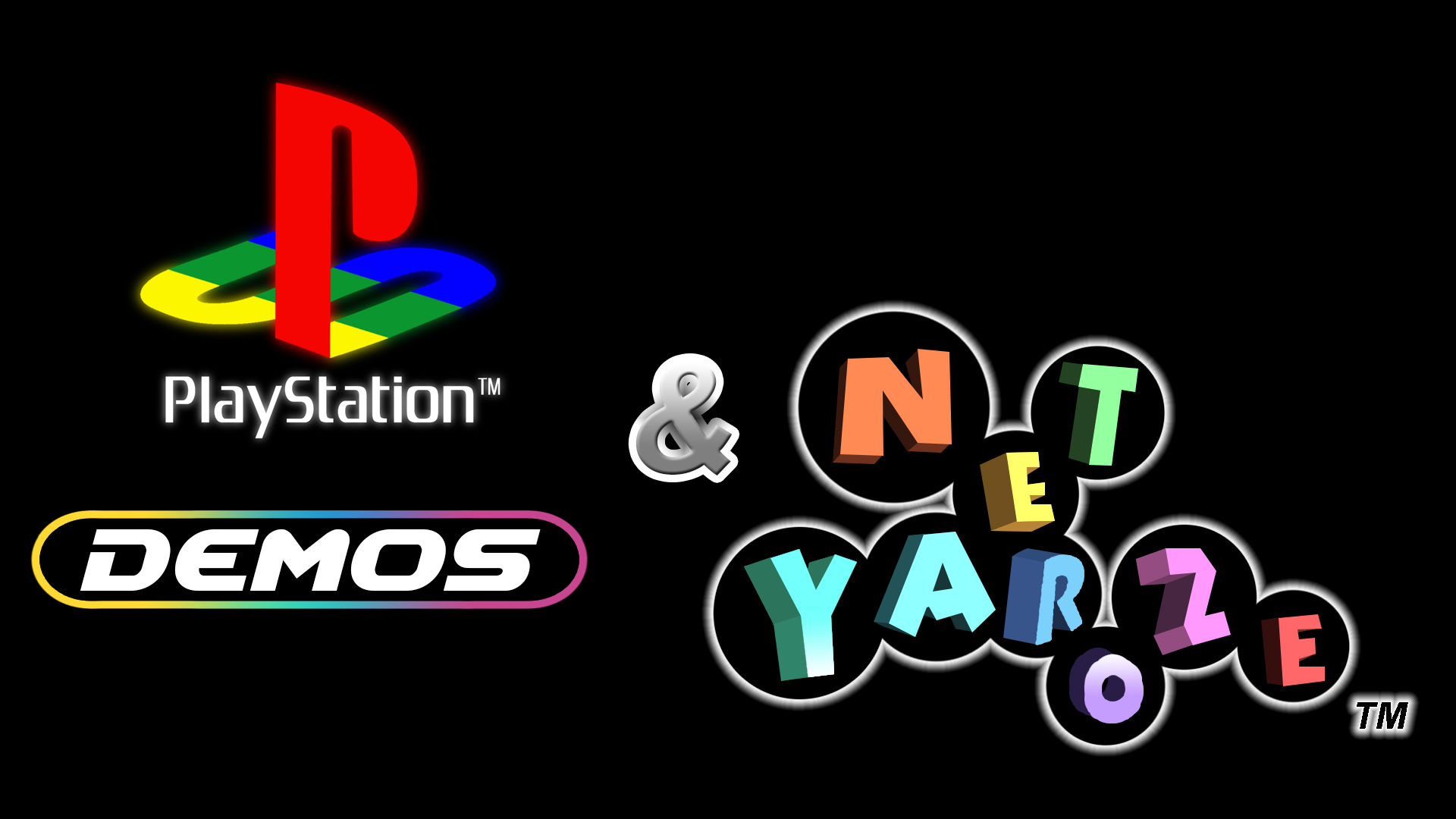 PlayStation Demos & Net Yaroze Logo