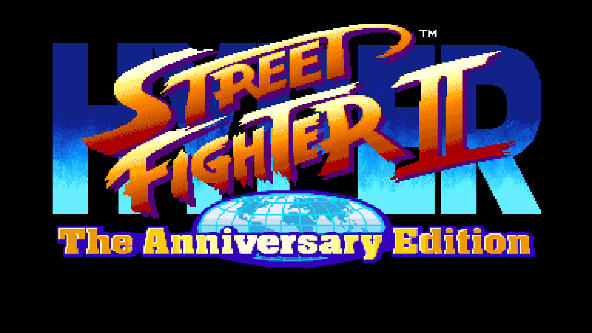 Hyper Street Fighter II: The Anniversary Edition Logo