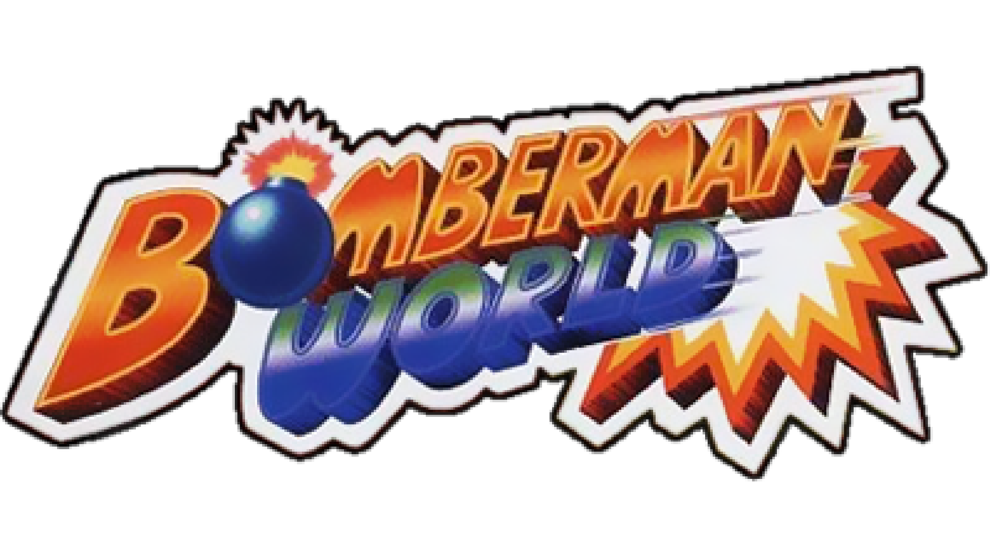 Bomberman World Logo