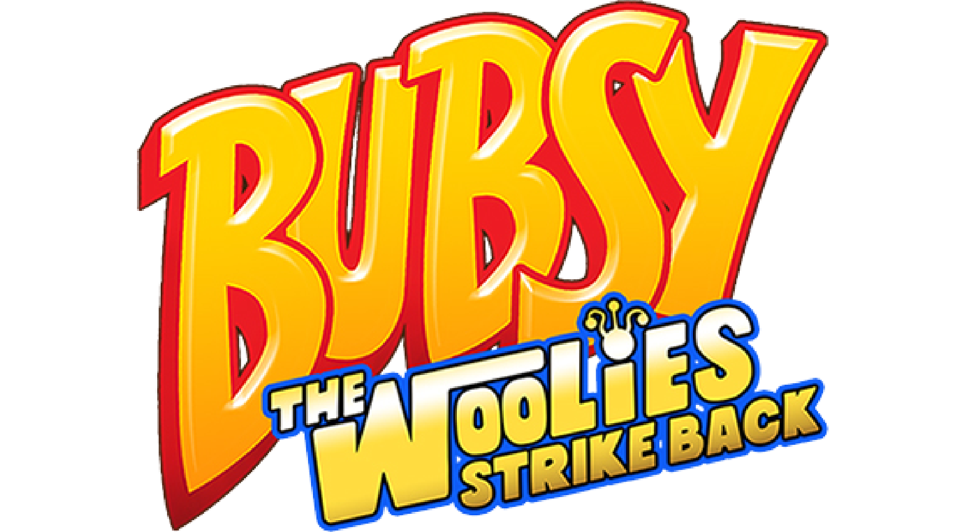 Bubsy: The Woolies Strike Back Logo