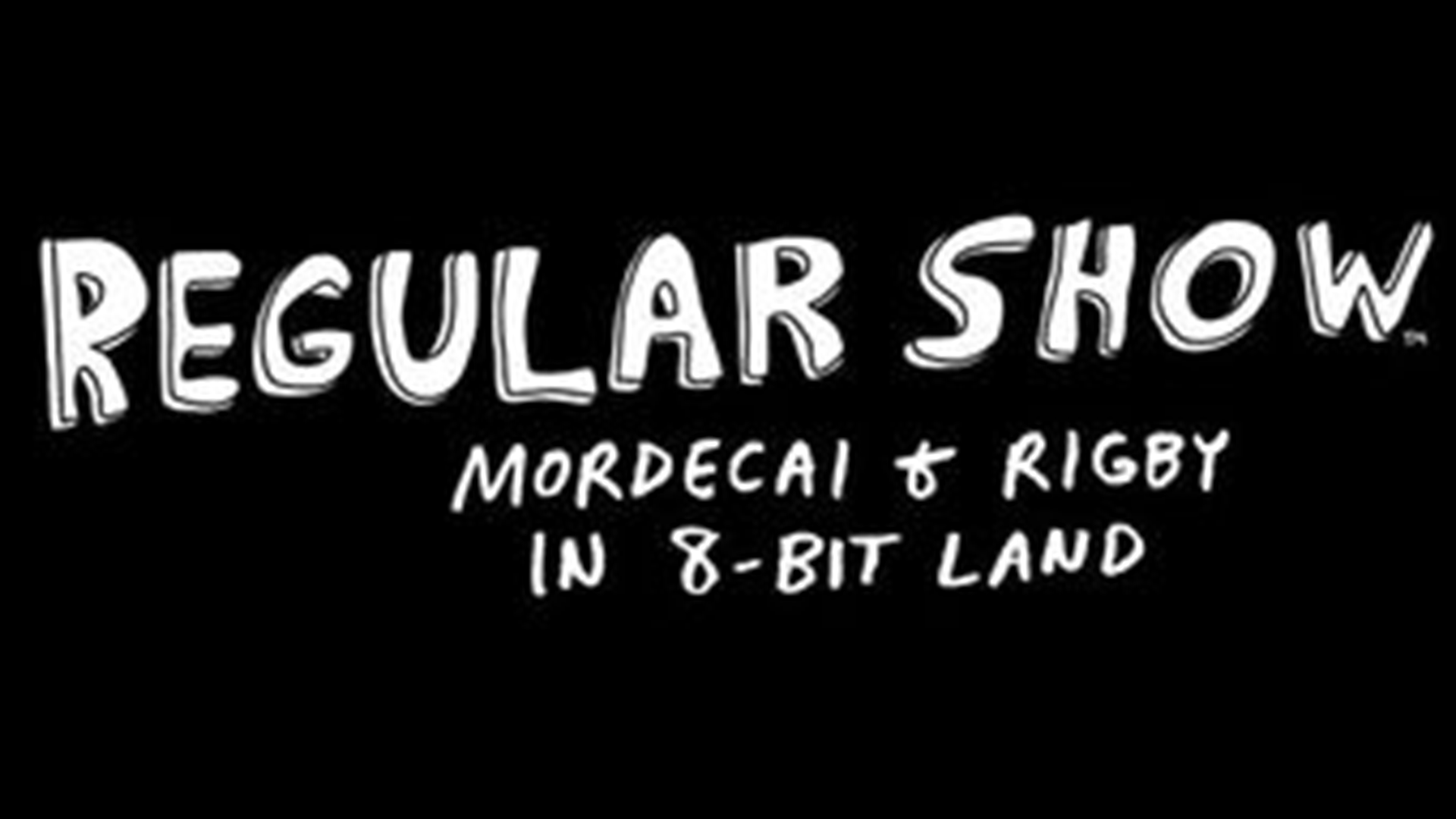 Regular Show: Mordecai and Rigby in 8-Bit Land Logo
