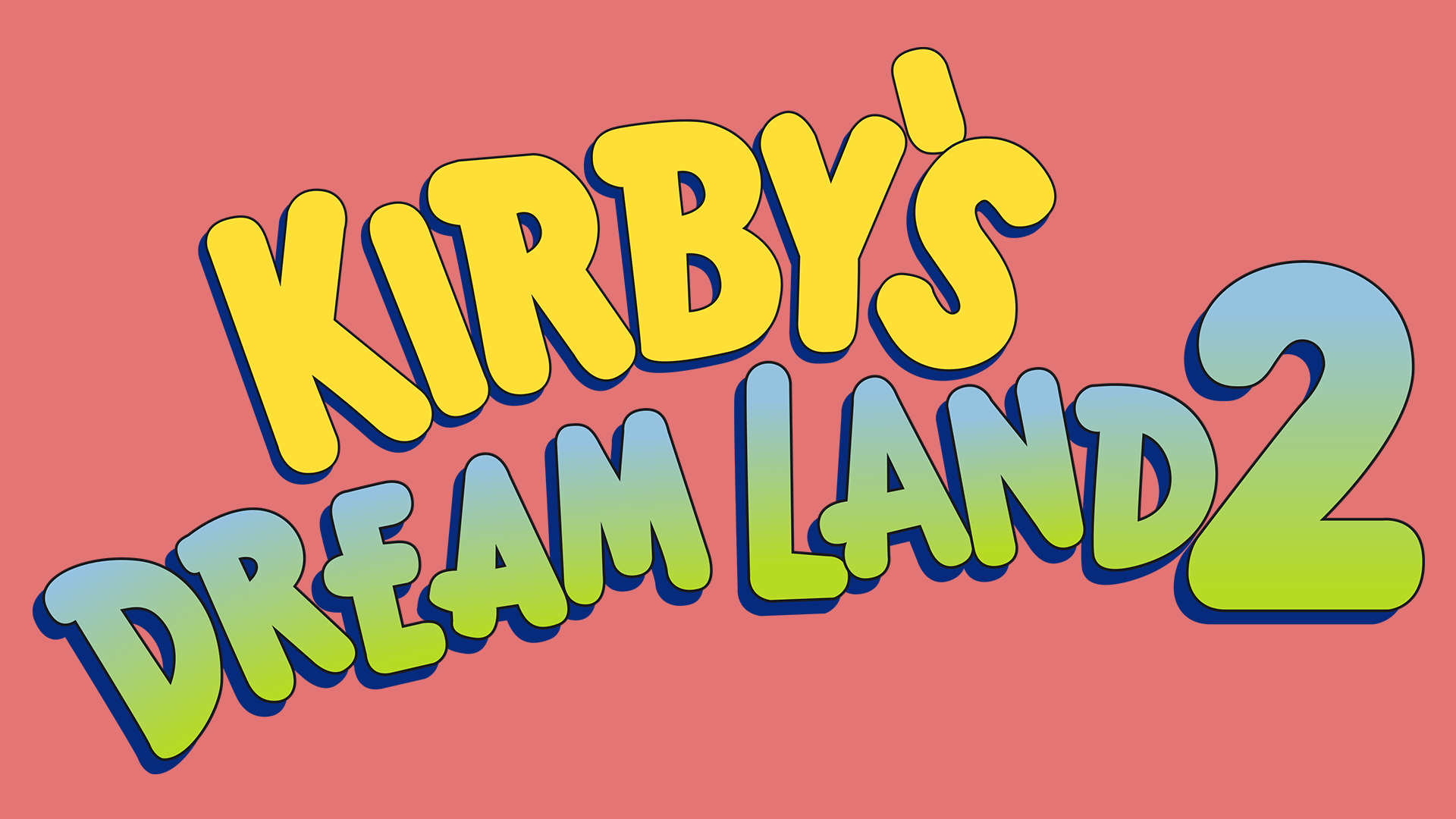 Kirby's Dream Land 2 Logo