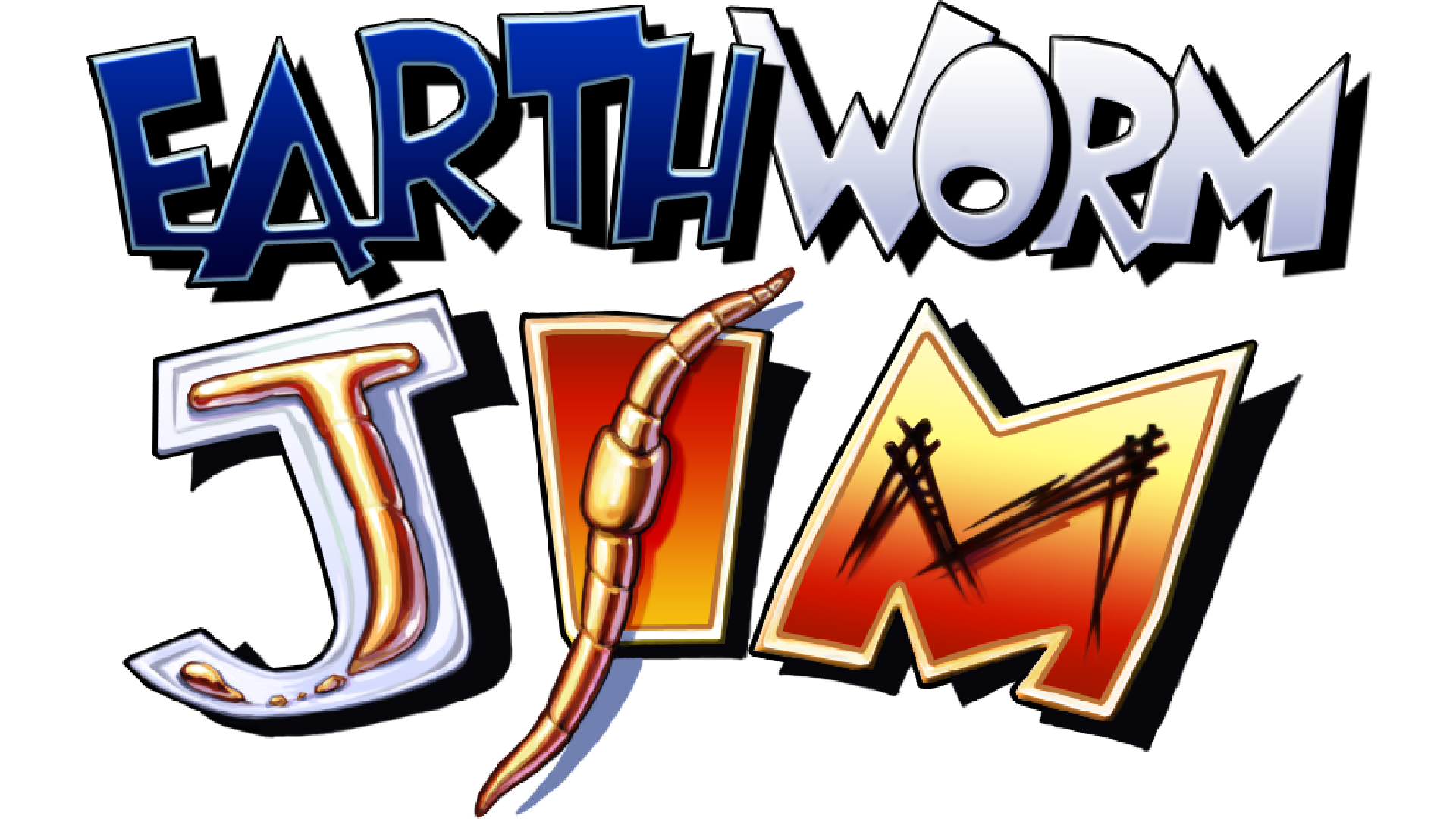 Earthworm Jim (Game Boy) Logo