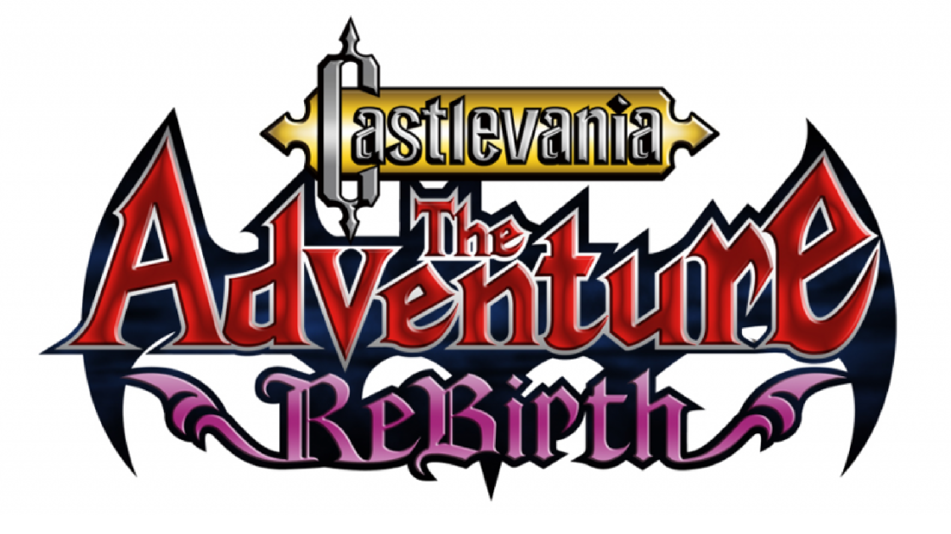 Castlevania: The Adventure ReBirth Logo