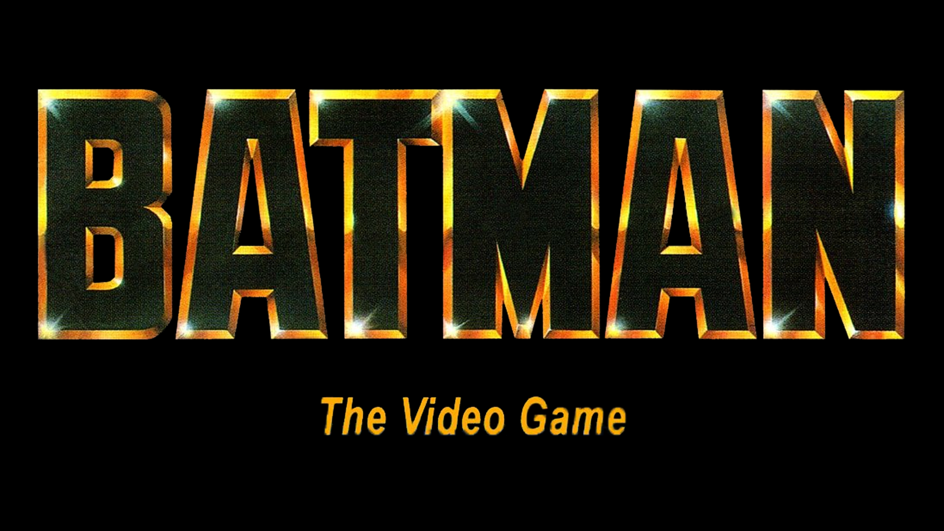 Batman - The Video Game (Gameboy) Logo