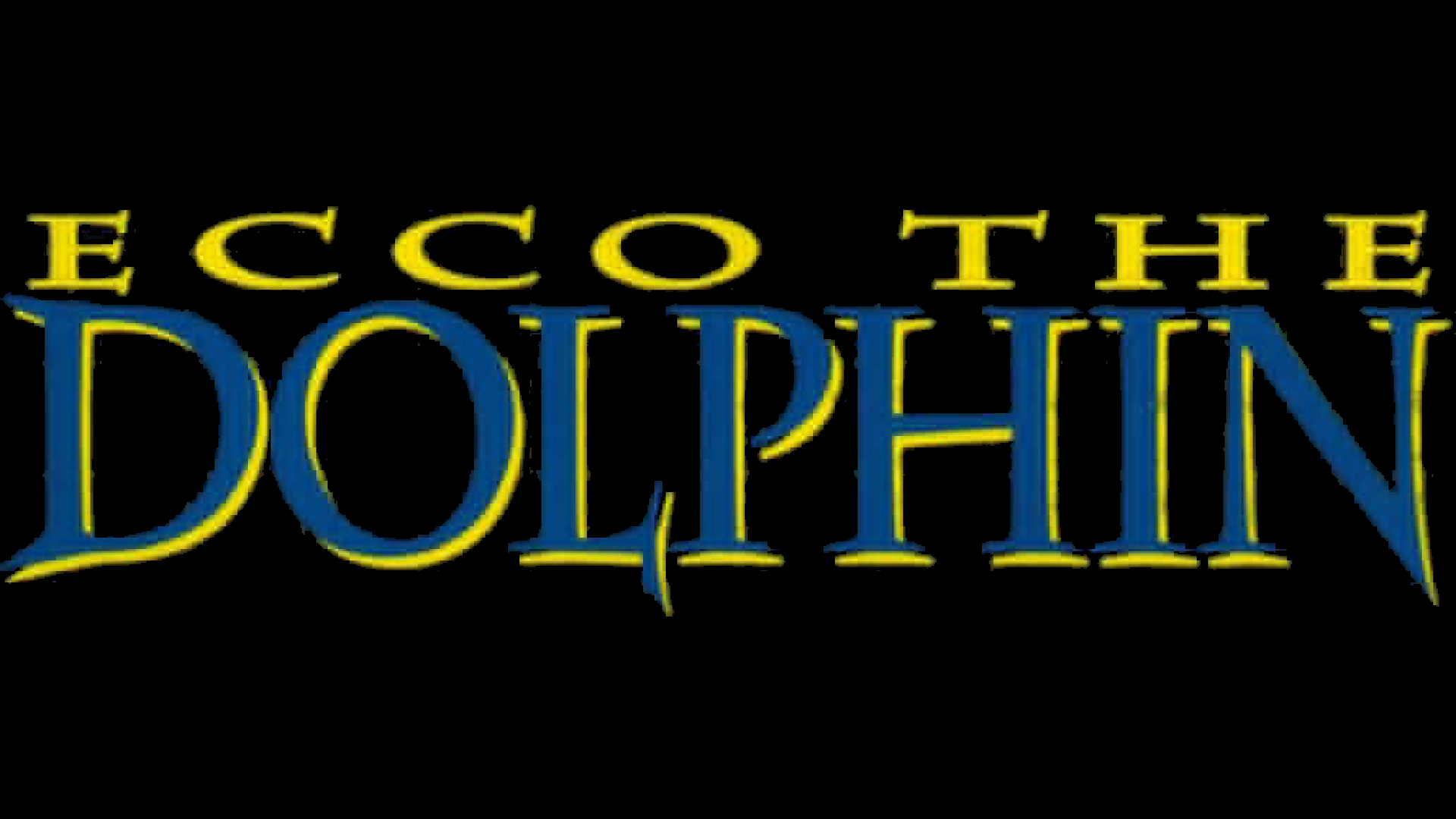 Ecco the Dolphin (Game Gear) Logo