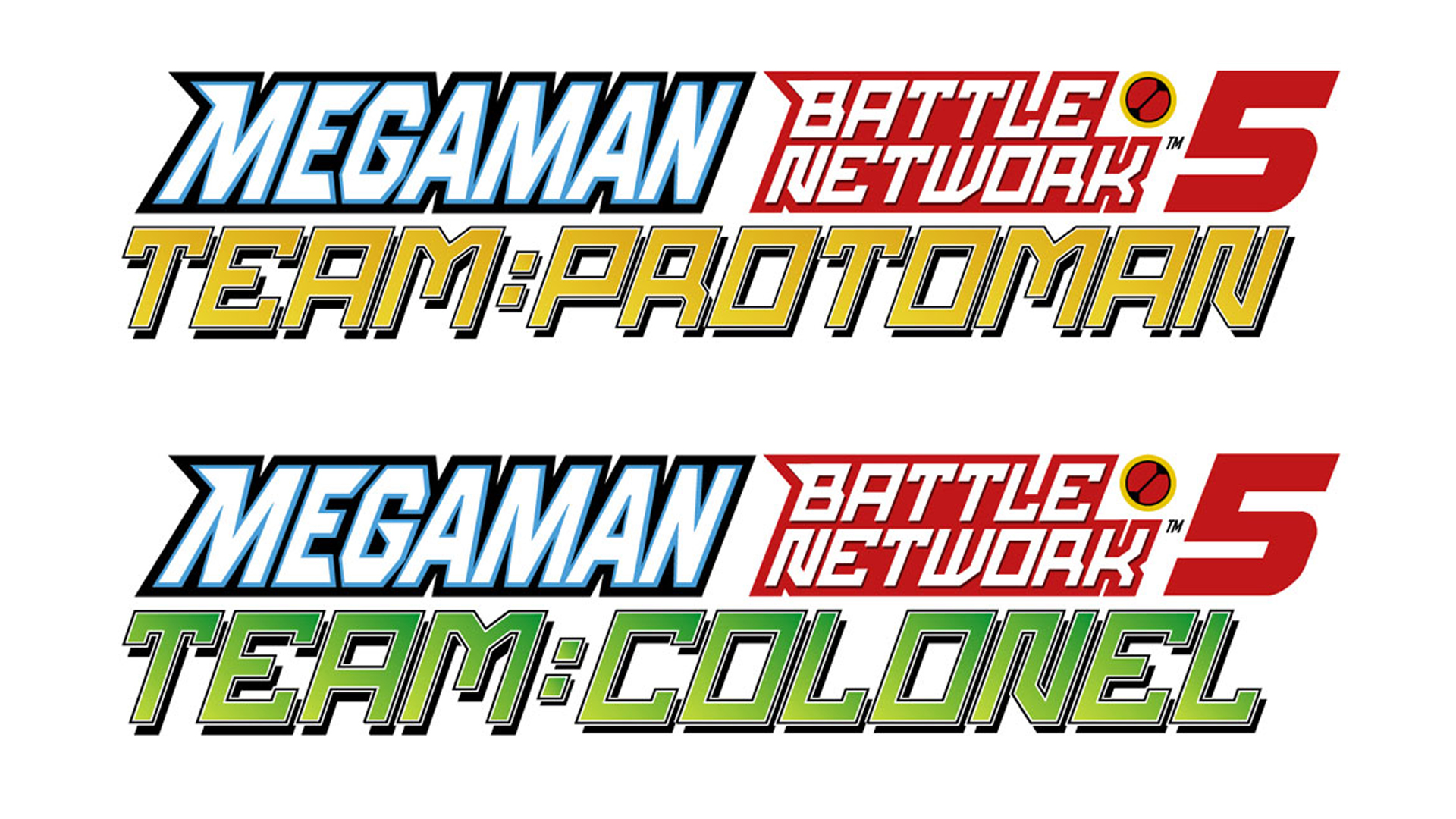 Mega Man Battle Network 5 Logo