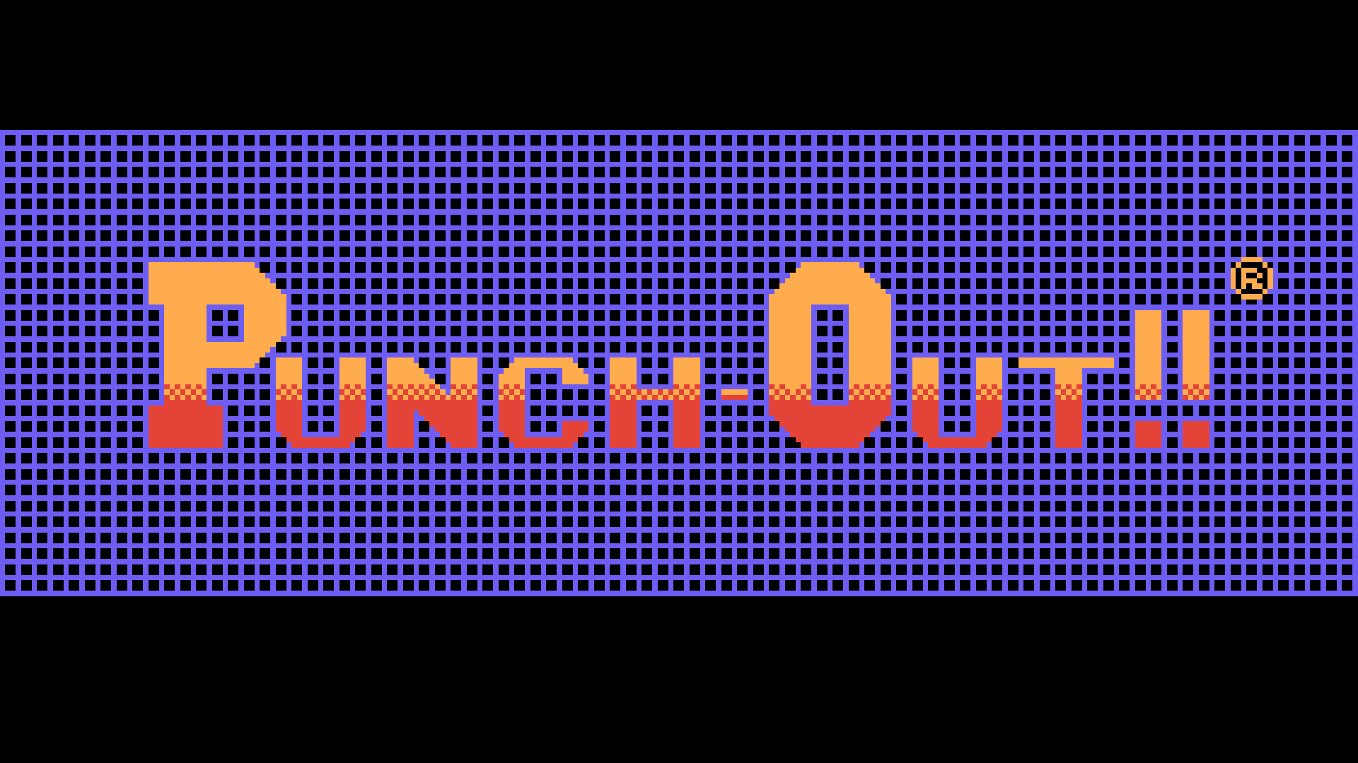 Punch-Out!! (NES) Logo