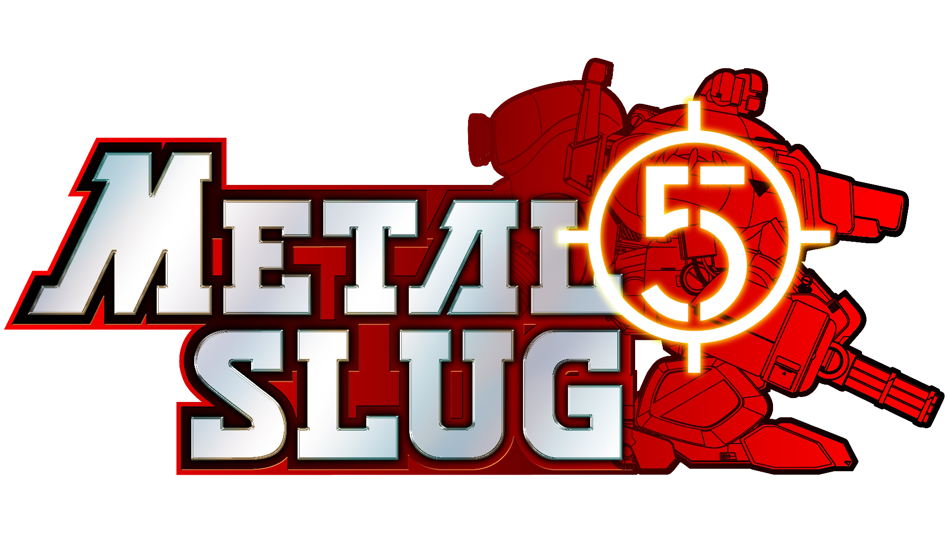 Metal Slug 5 Logo