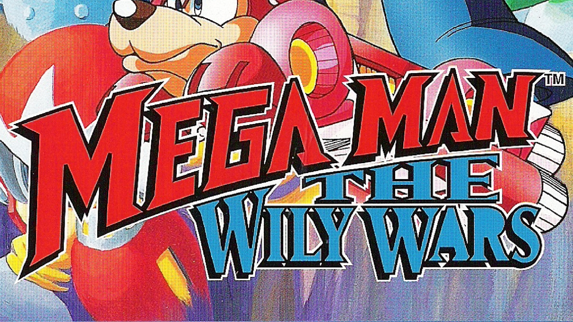 Mega Man: The Wily Wars Logo