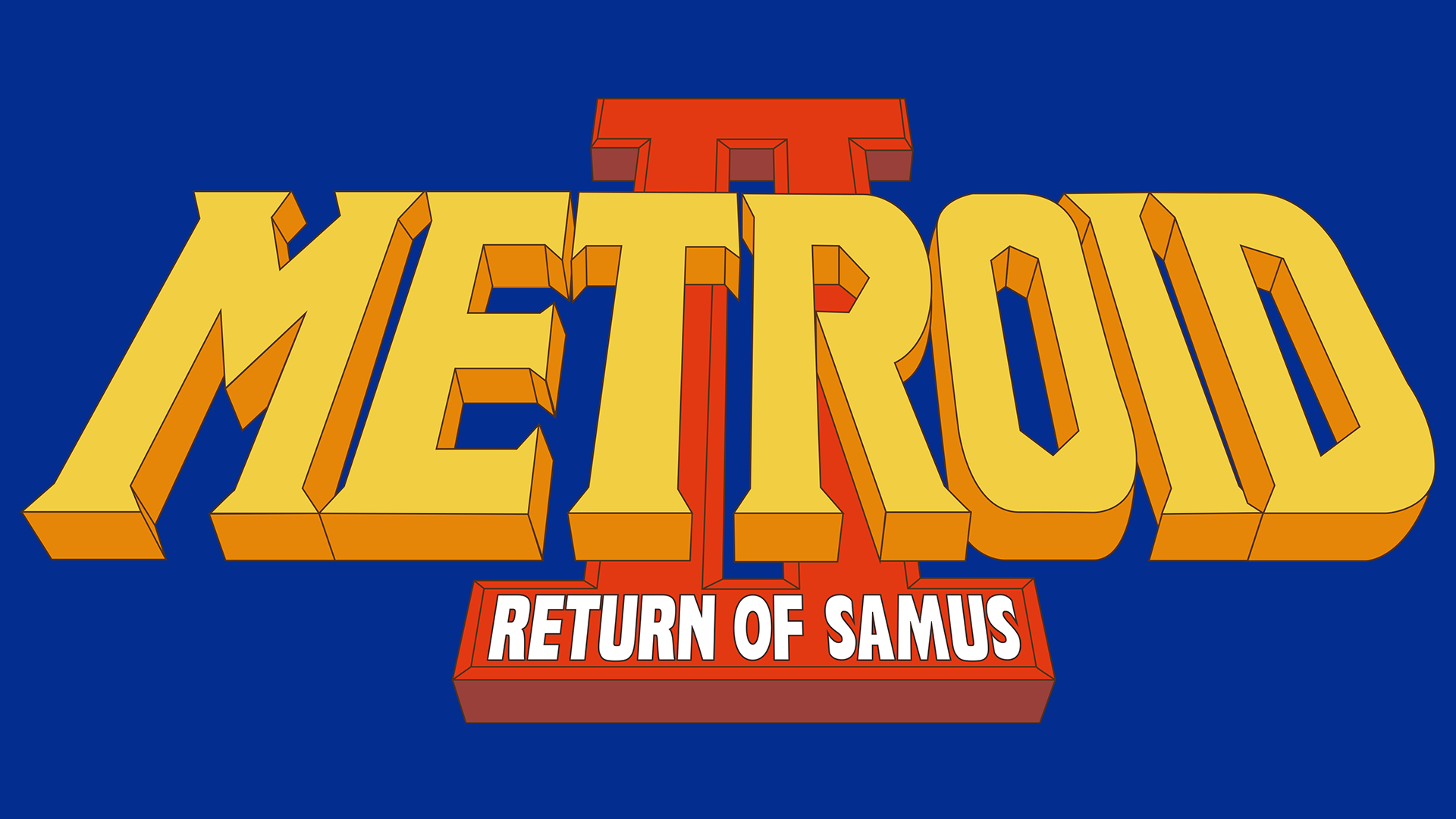 Metroid II: Return of Samus Logo