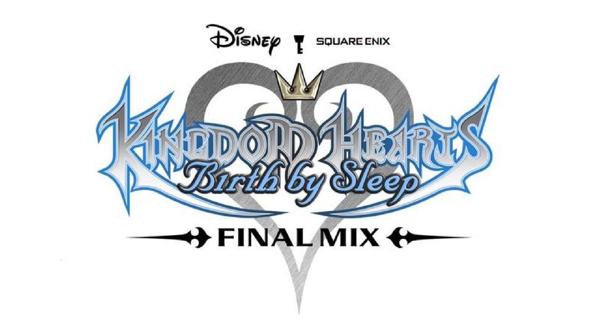 Kingdom Hearts: Birth By Sleep Final Mix Logo