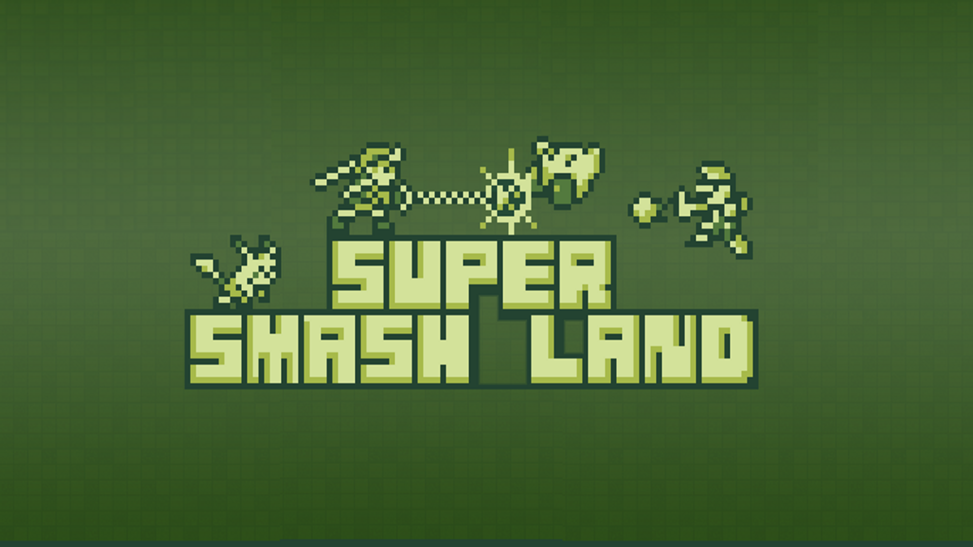 Super Smash Land Logo