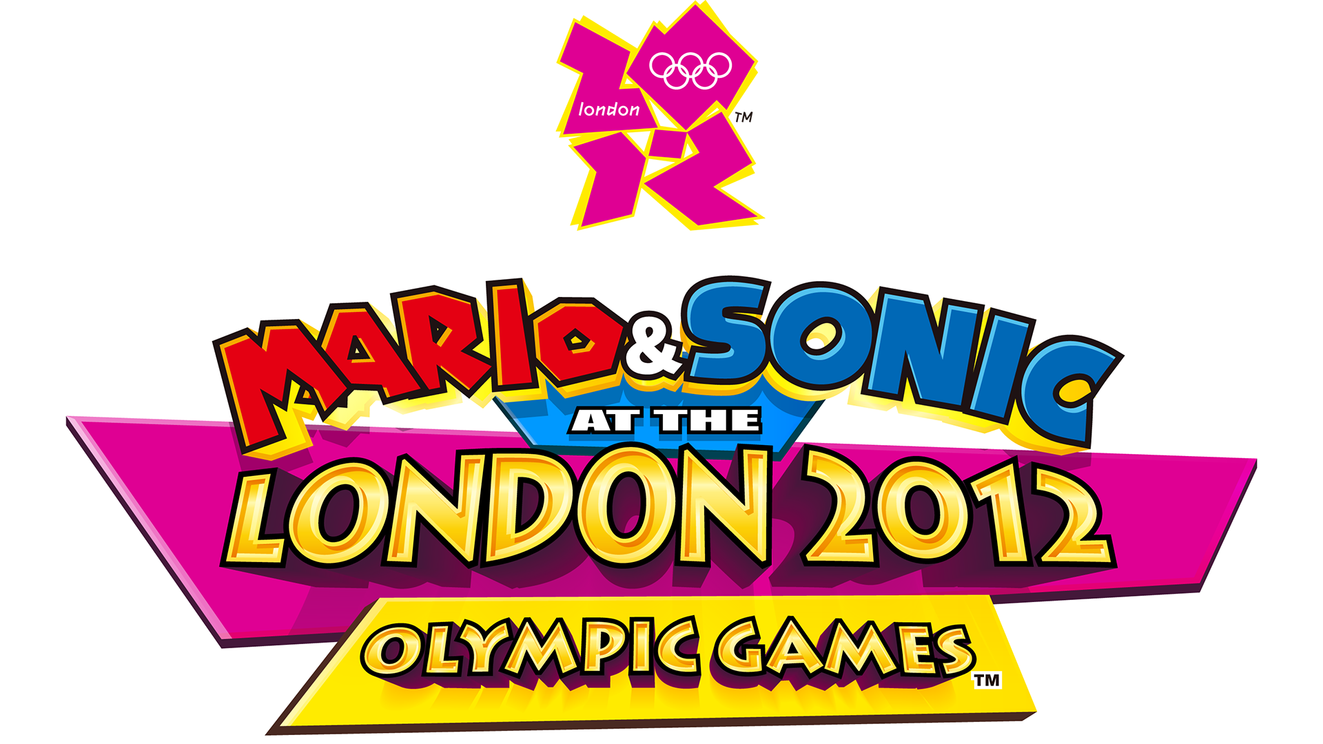 Mario & Sonic at the London 2012 Olympic Games Logo