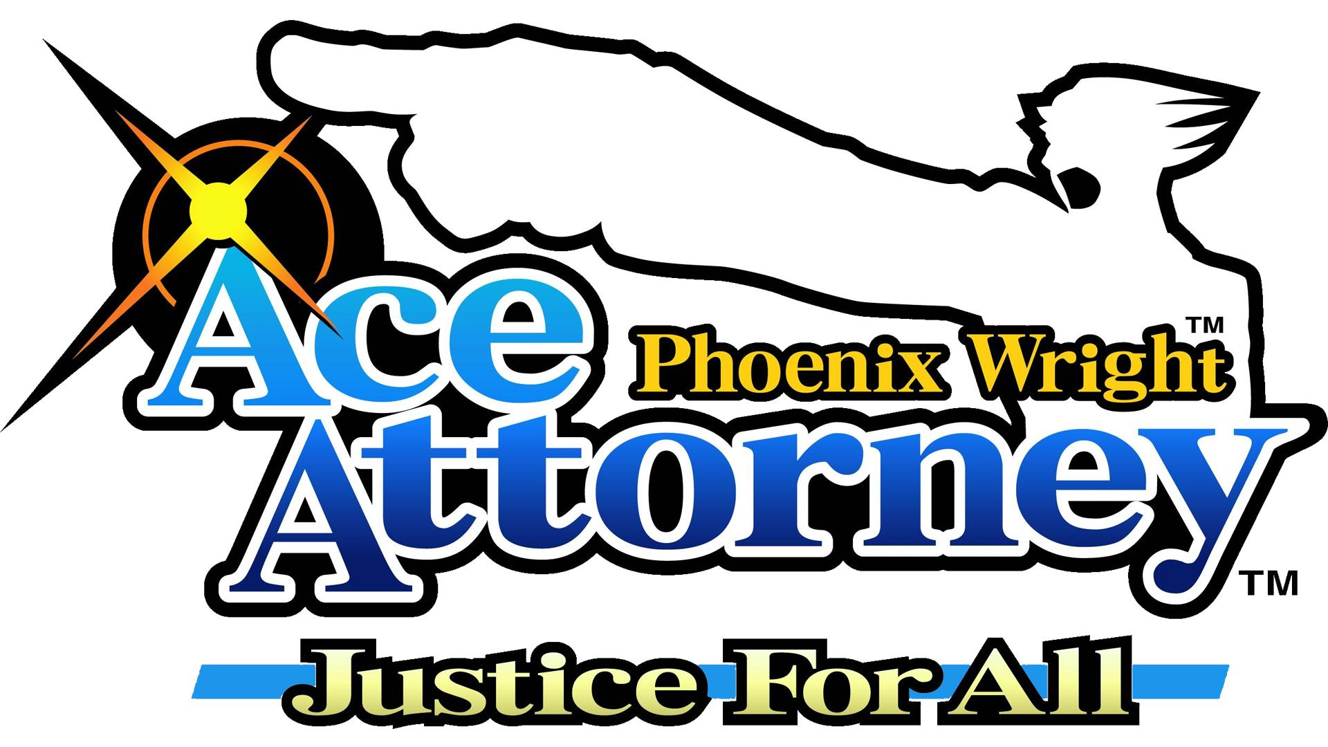 Phoenix Wright: Ace Attorney: Justice for All Logo