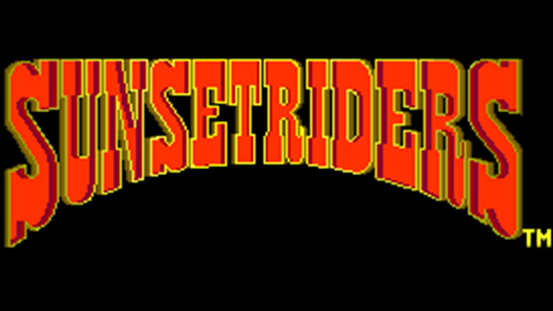 Sunset Riders (Arcade) Logo