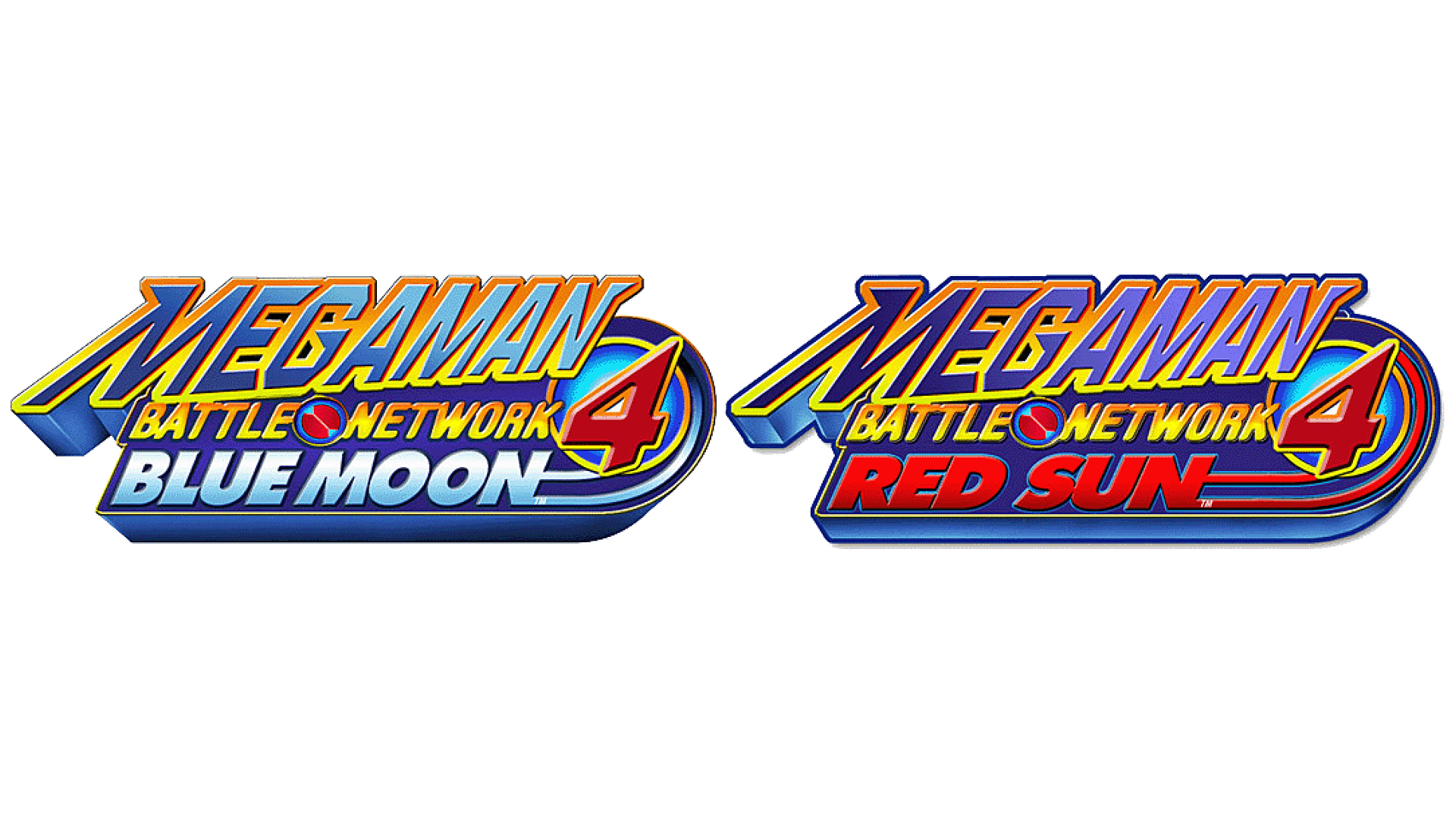 Mega Man Battle Network 4 Logo