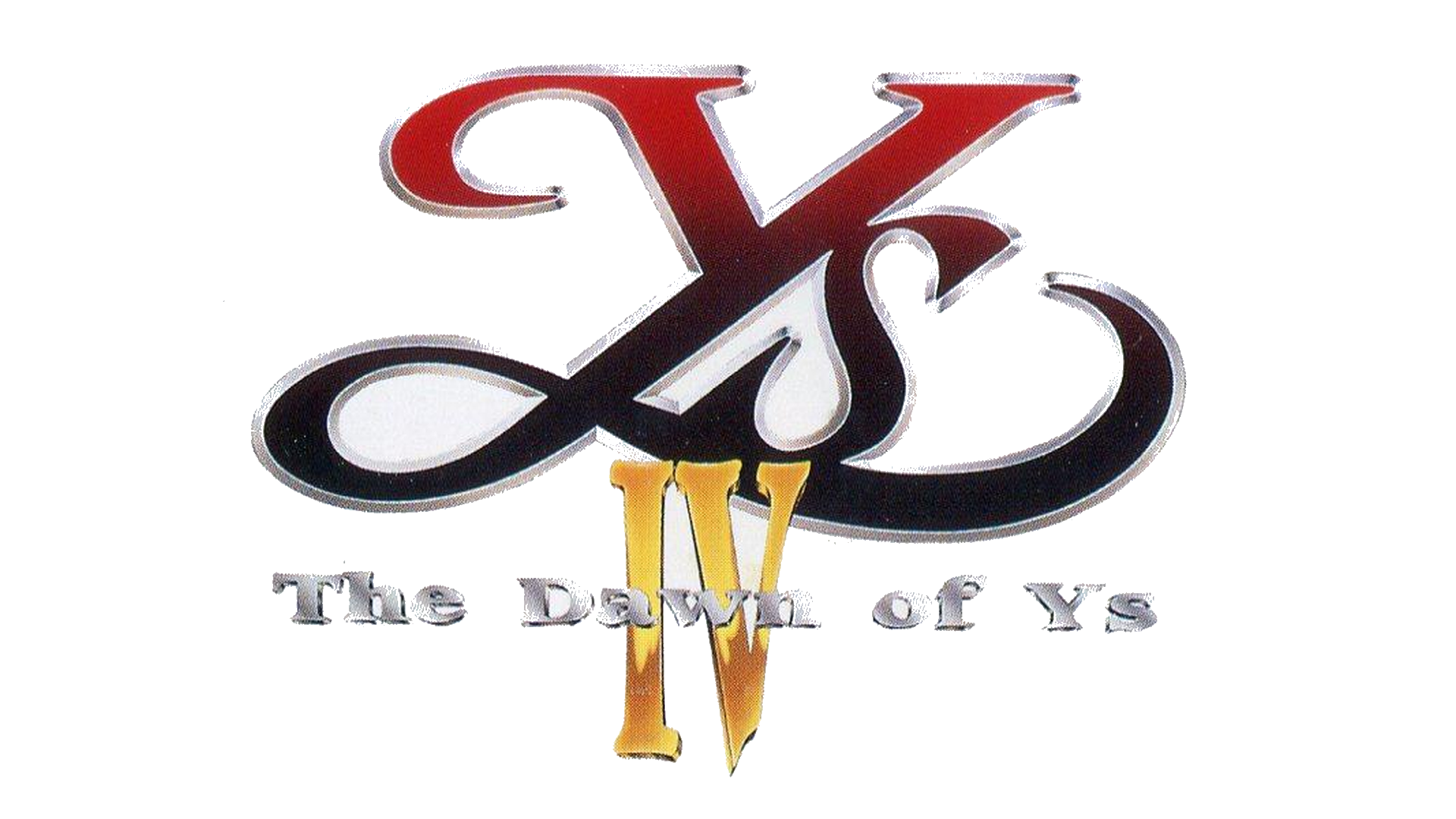 Ys IV: The Dawn of Ys Logo