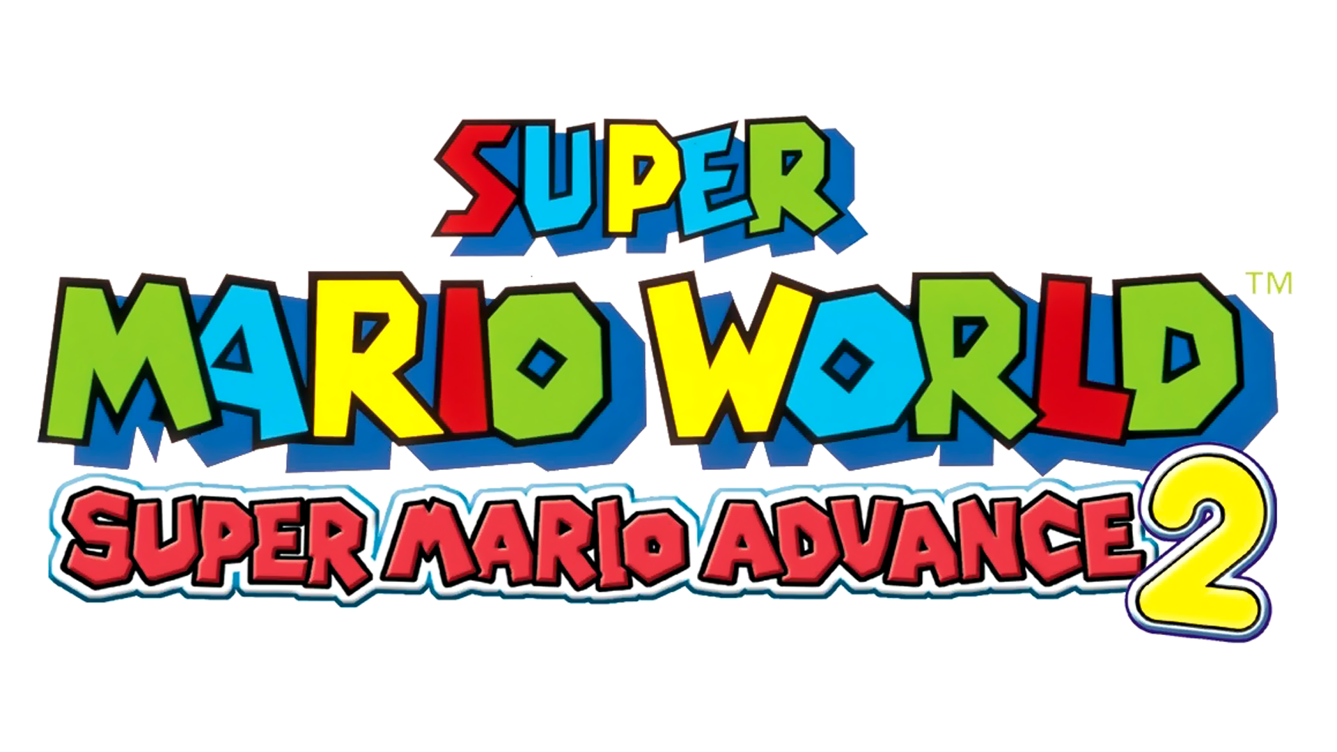 Super Mario Advance 2: Super Mario World Logo