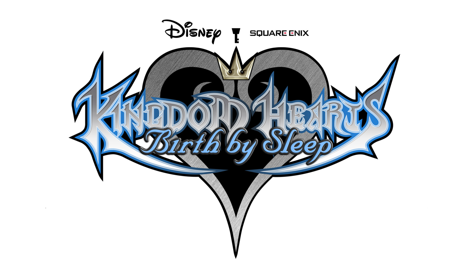 Kingdom Hearts: Birth By Sleep Logo