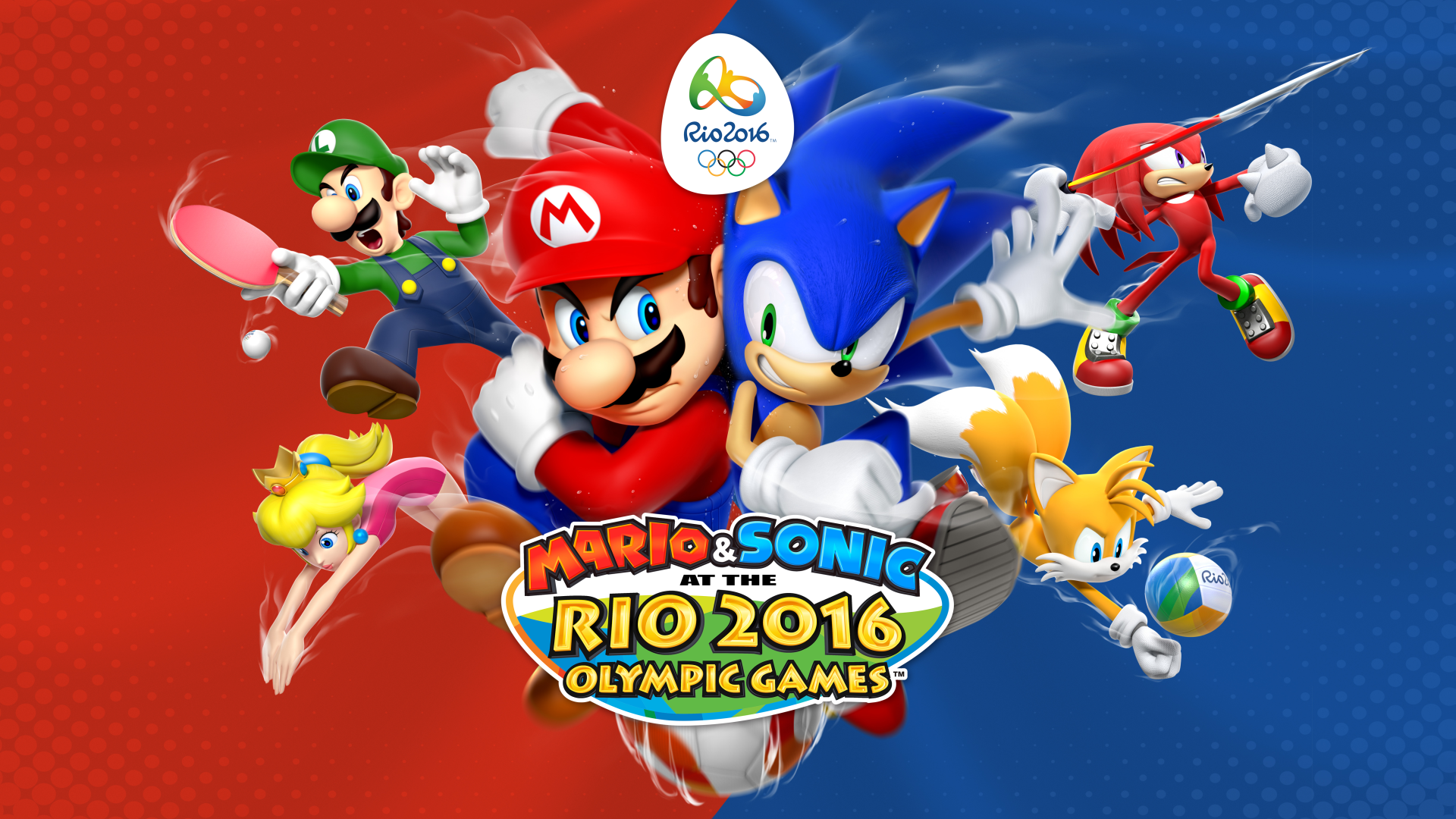 Mario & Sonic at the Rio 2016 Olympic Games (Wii U) Logo