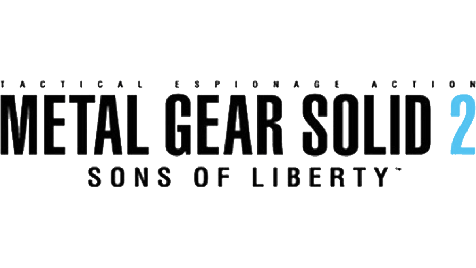 Metal Gear Solid 2: Sons of Liberty Logo