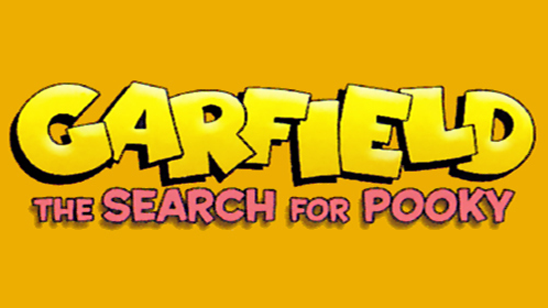 Garfield: The Search for Pooky Logo